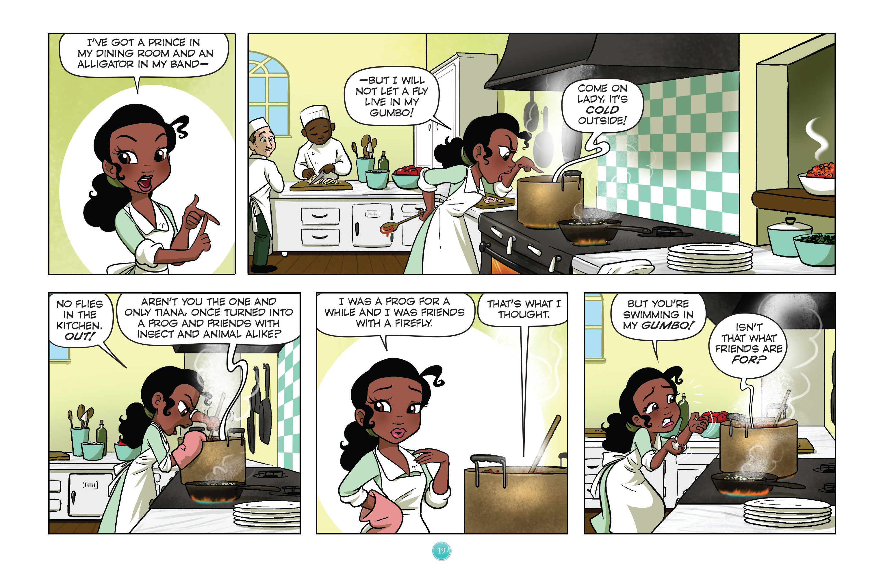 Read online Disney Princess comic -  Issue #1 - 22
