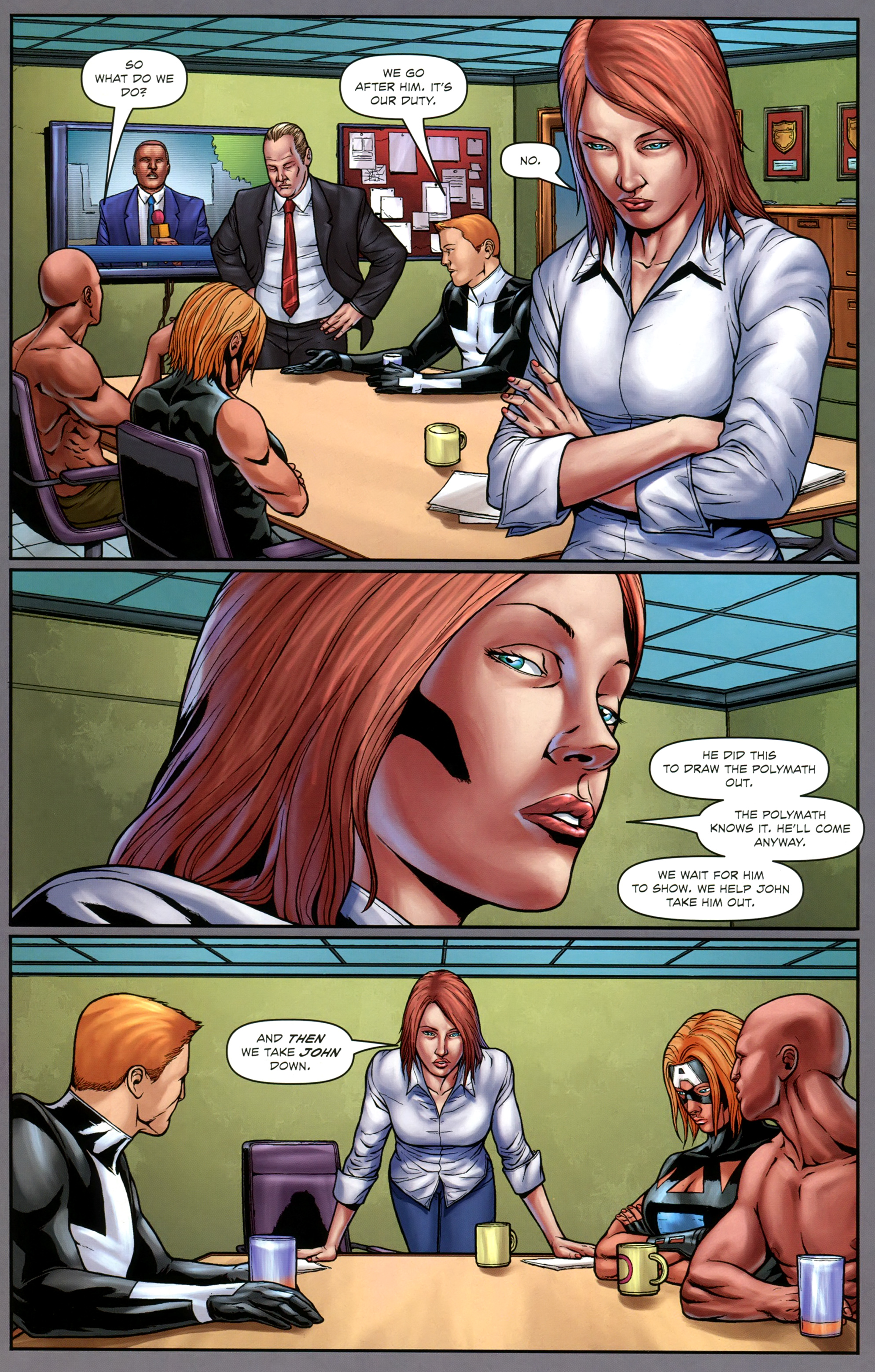 Read online Absolution: Rubicon comic -  Issue #3 - 26