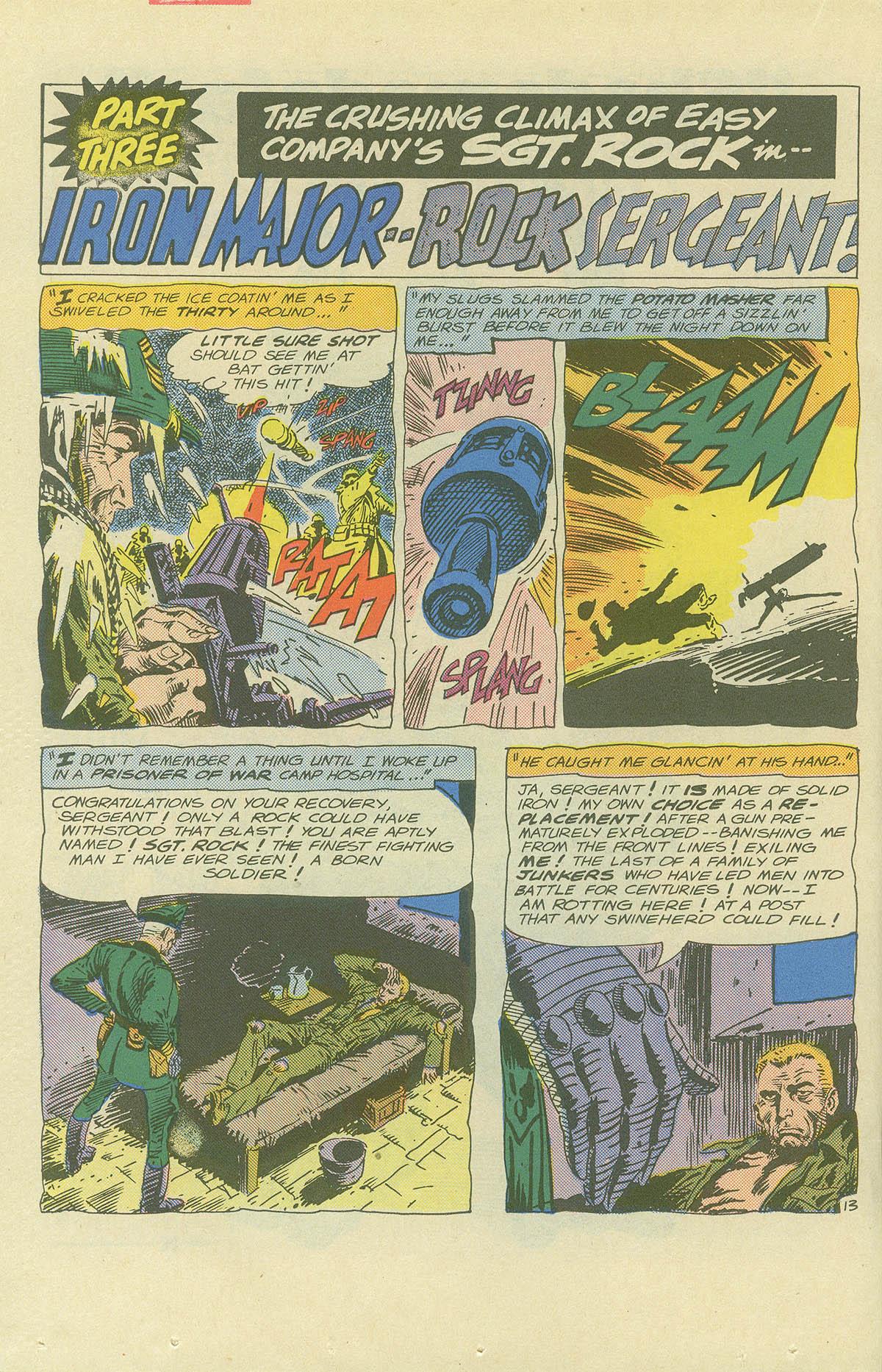 Read online Sgt. Rock comic -  Issue #404 - 20