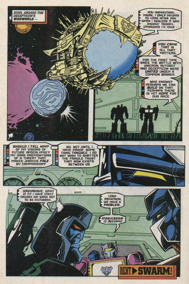 Read online Transformers: Generation 2 comic -  Issue #8 - 22