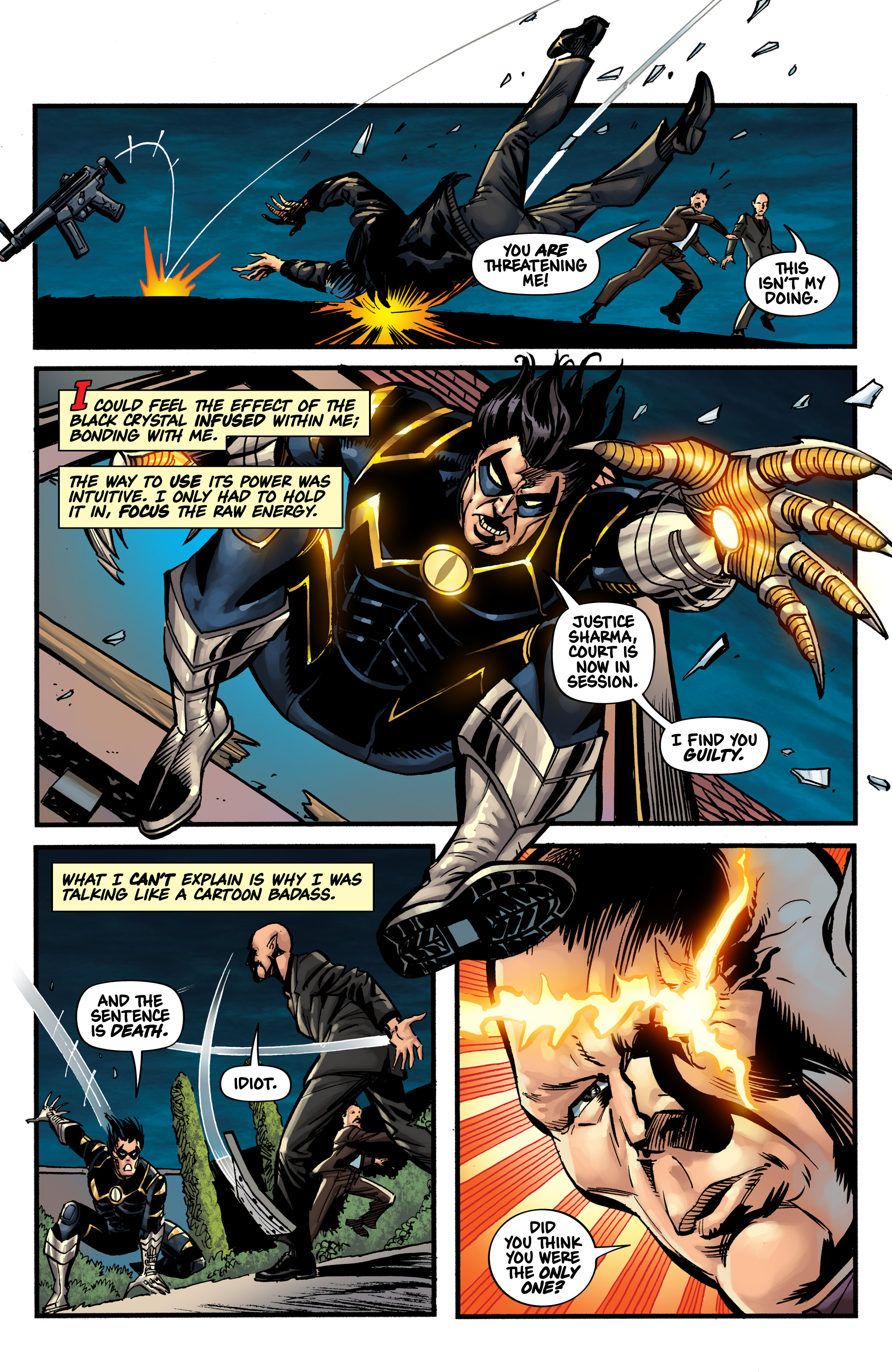 Read online Shadow Tiger comic -  Issue #1 - 22