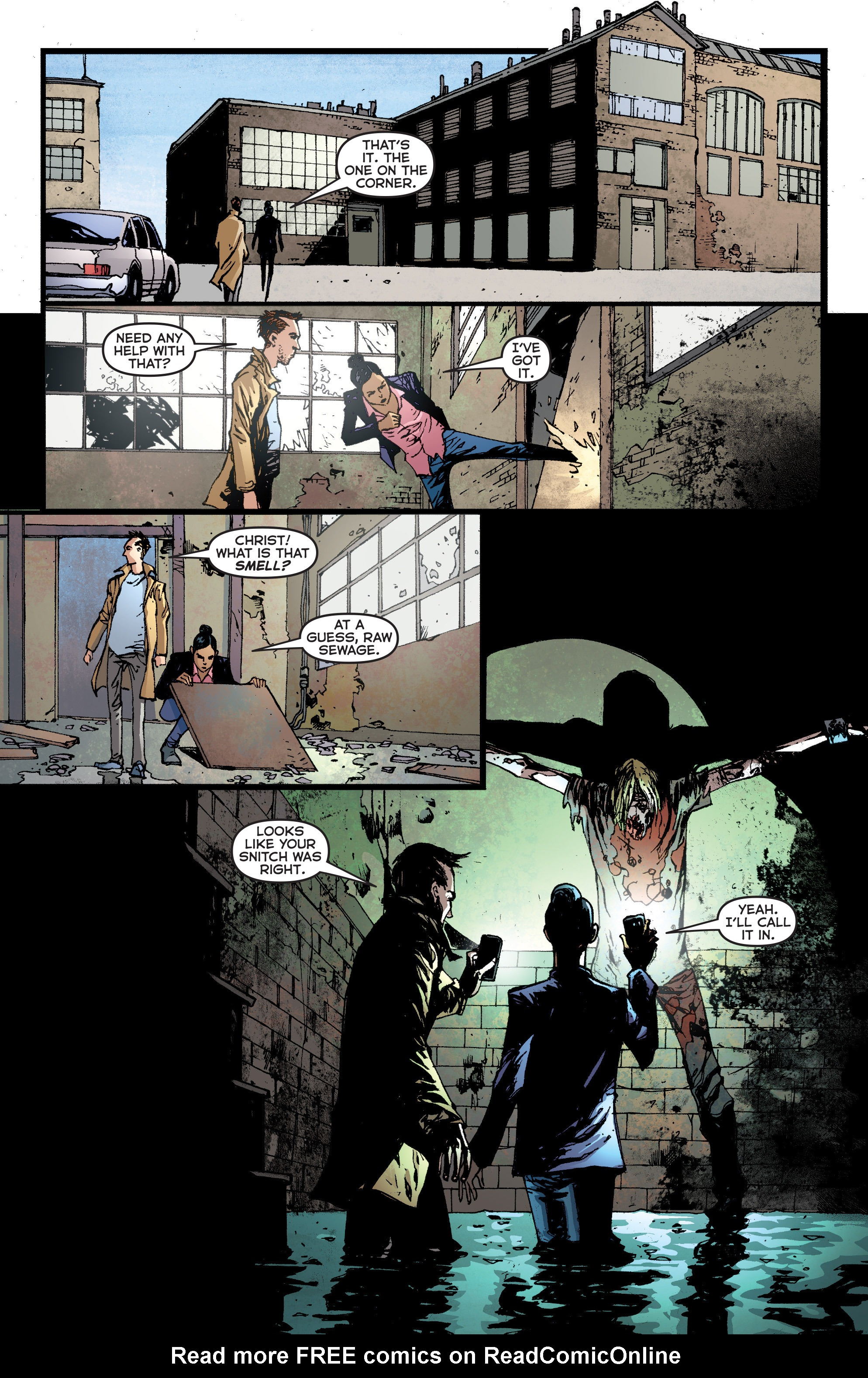 Read online Second Sight comic -  Issue #3 - 10