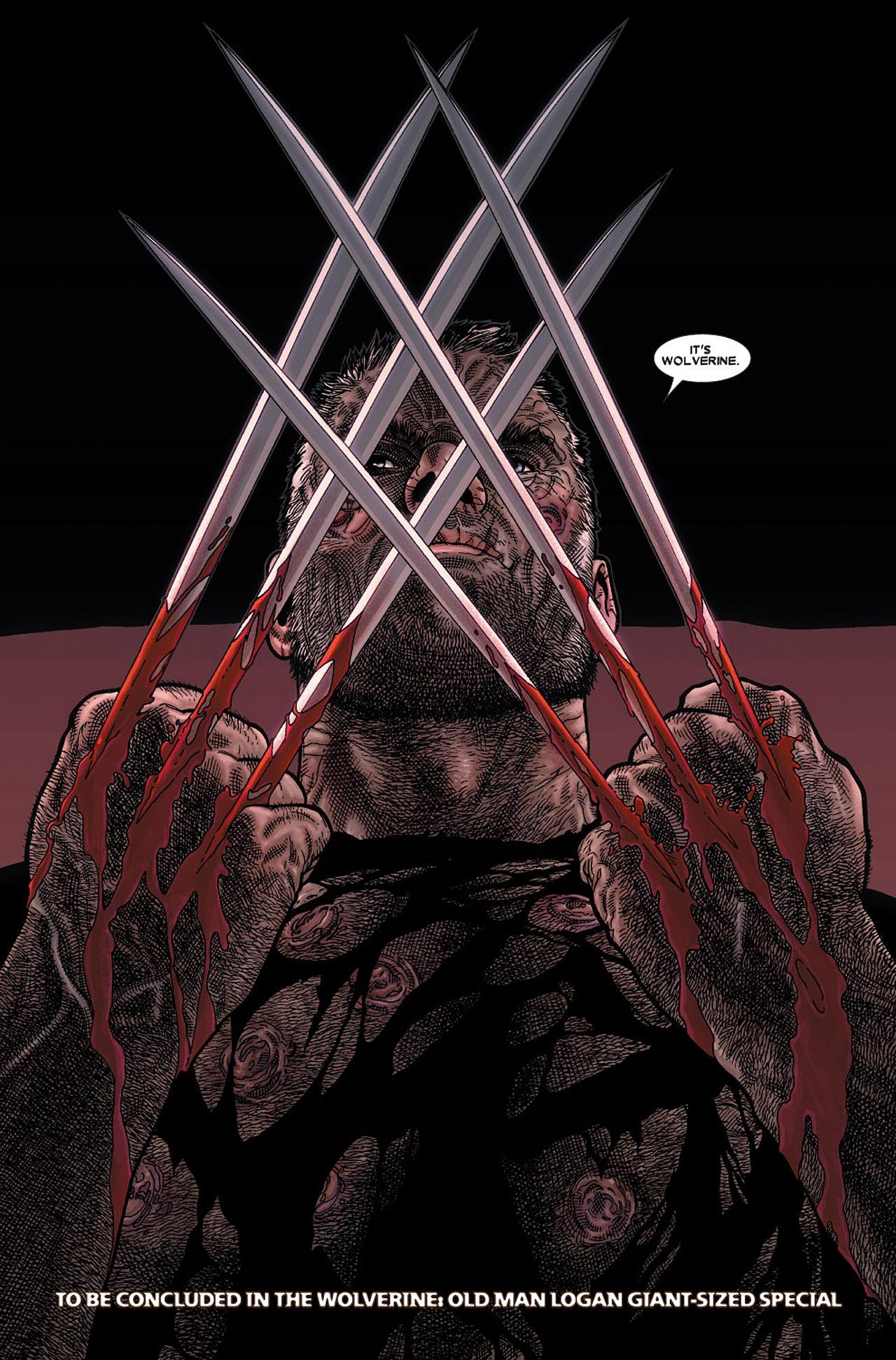 Read online Wolverine: Old Man Logan comic -  Issue # Full - 164