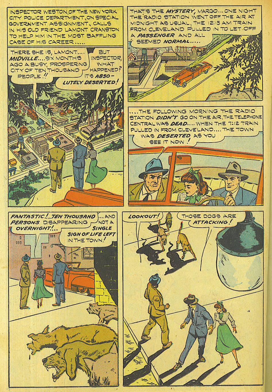 Read online Shadow Comics comic -  Issue #87 - 33