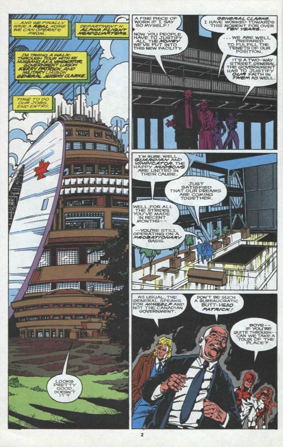 Read online Alpha Flight (1983) comic -  Issue #97 - 3