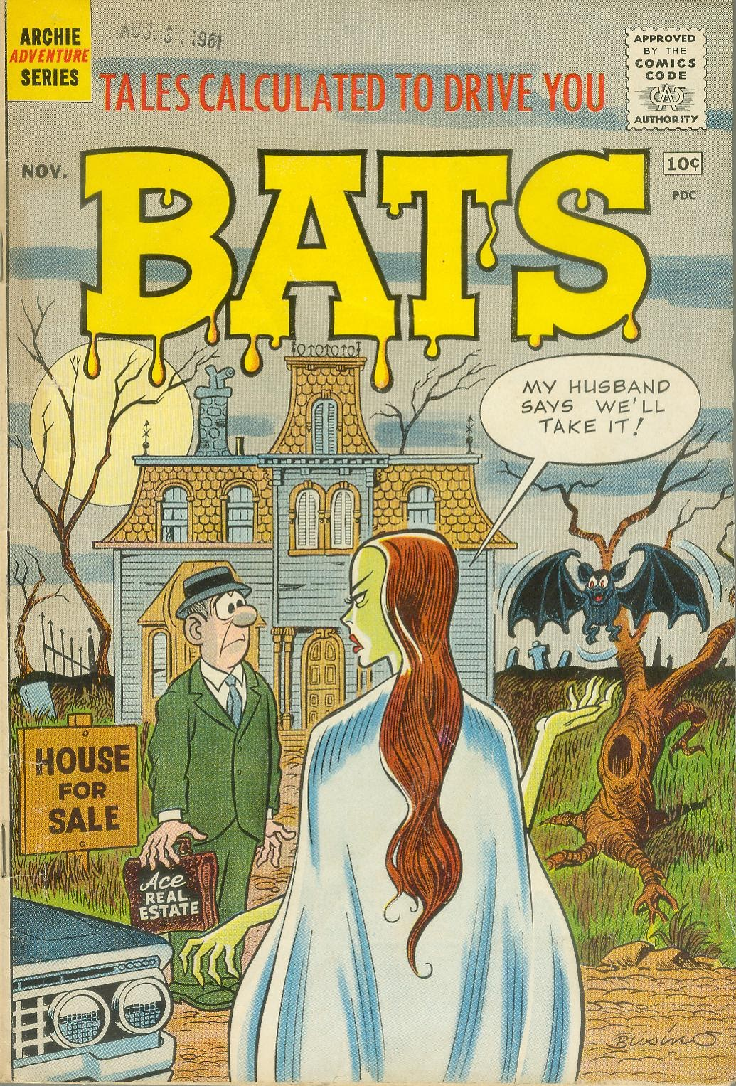 Read online Tales Calculated to Drive You Bats comic -  Issue #1 - 1