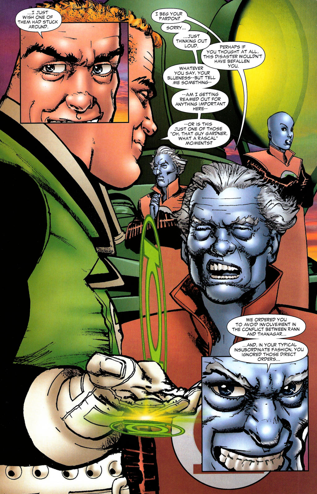 Read online Guy Gardner: Collateral Damage comic -  Issue #2 - 36