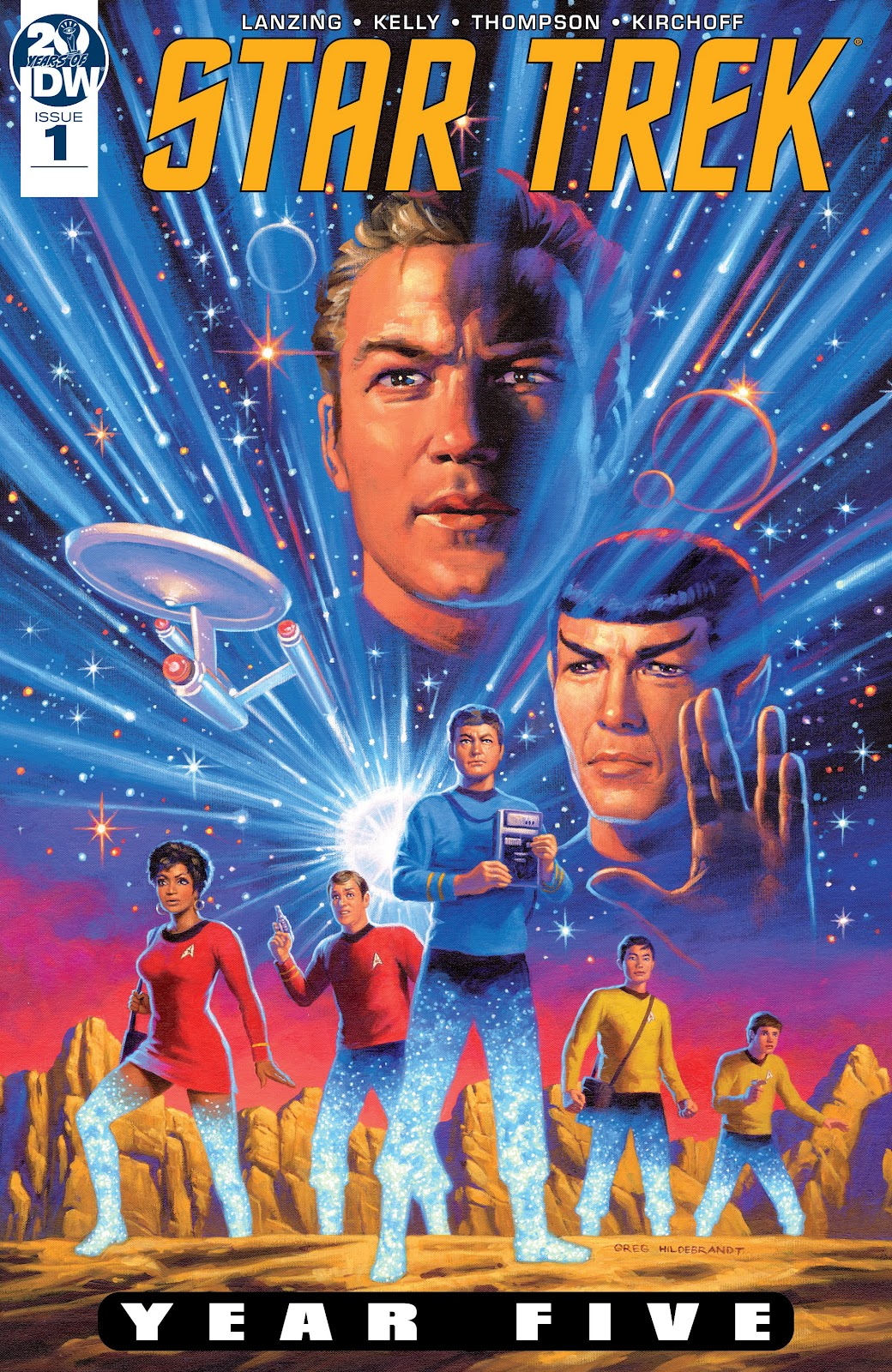 Star Trek: Year Five issue 1 - Page 1