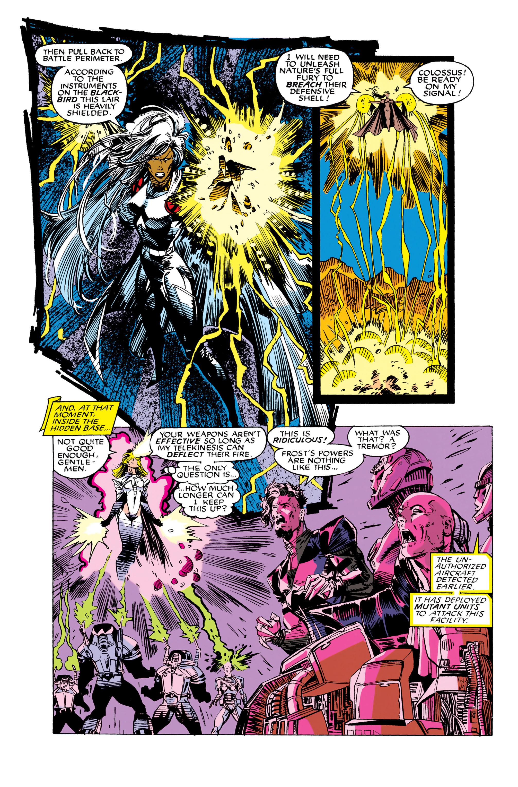 Read online Uncanny X-Men (1963) comic -  Issue #282 - 14