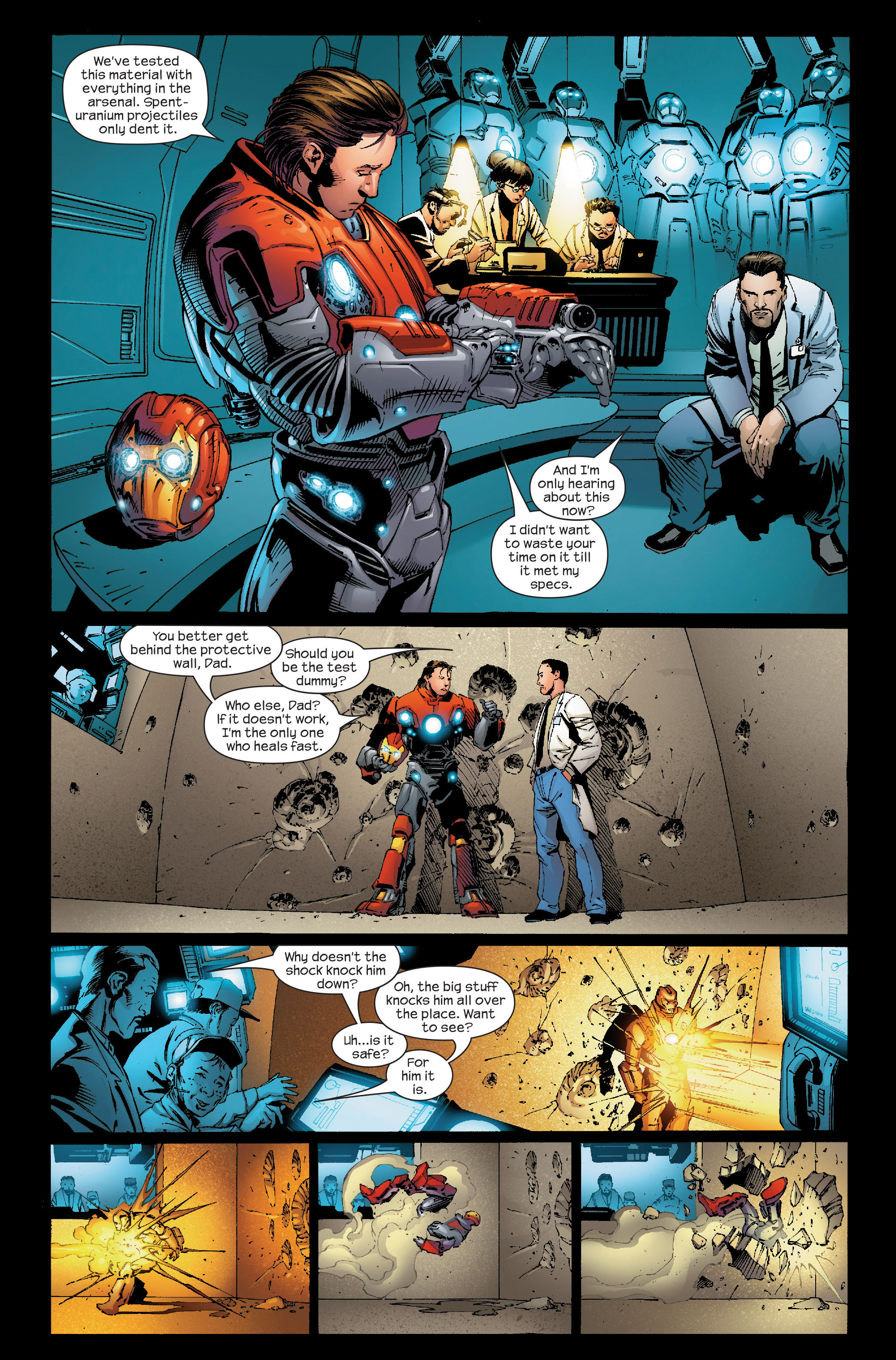 Read online Ultimate Iron Man (2005) comic -  Issue #5 - 5