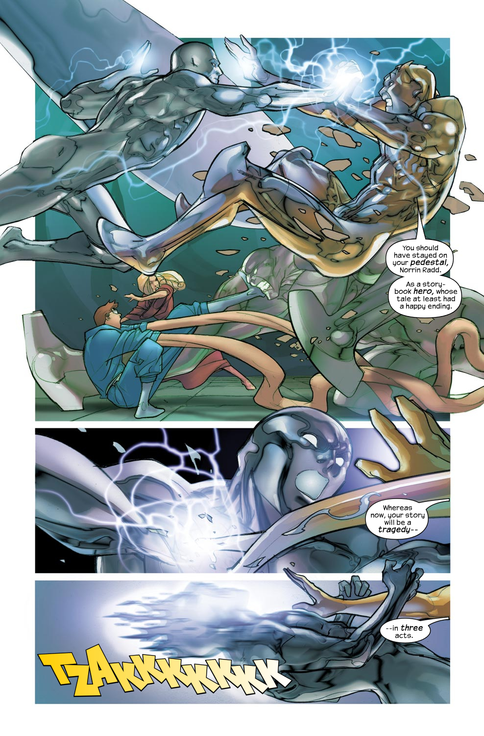 Read online Ultimate Fantastic Four (2004) comic -  Issue #46 - 10