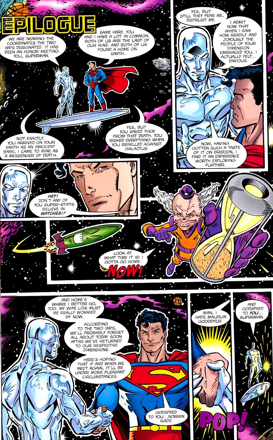 Read online Silver Surfer/Superman comic -  Issue # Full - 47