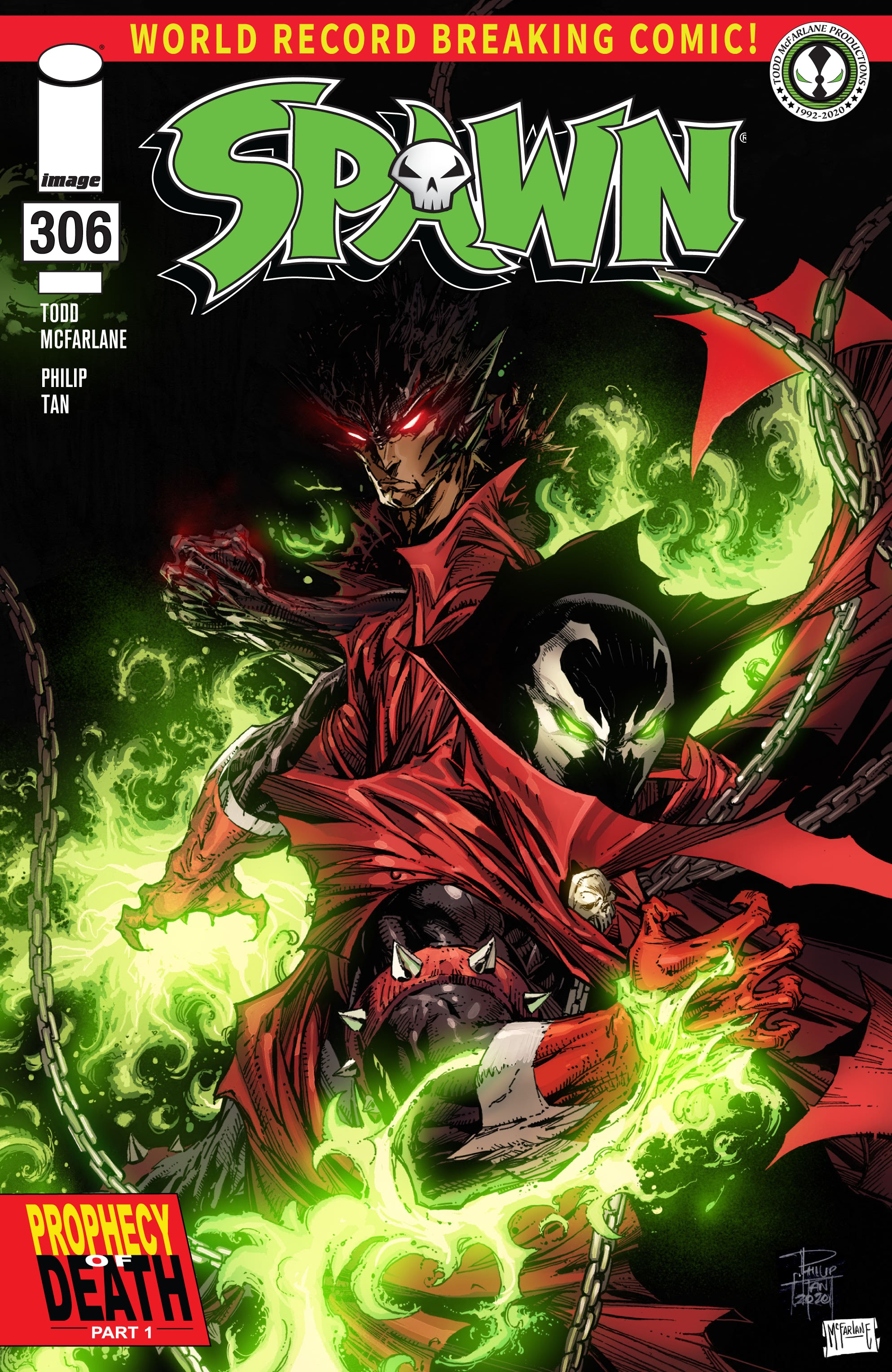 Spawn 306 Page 1