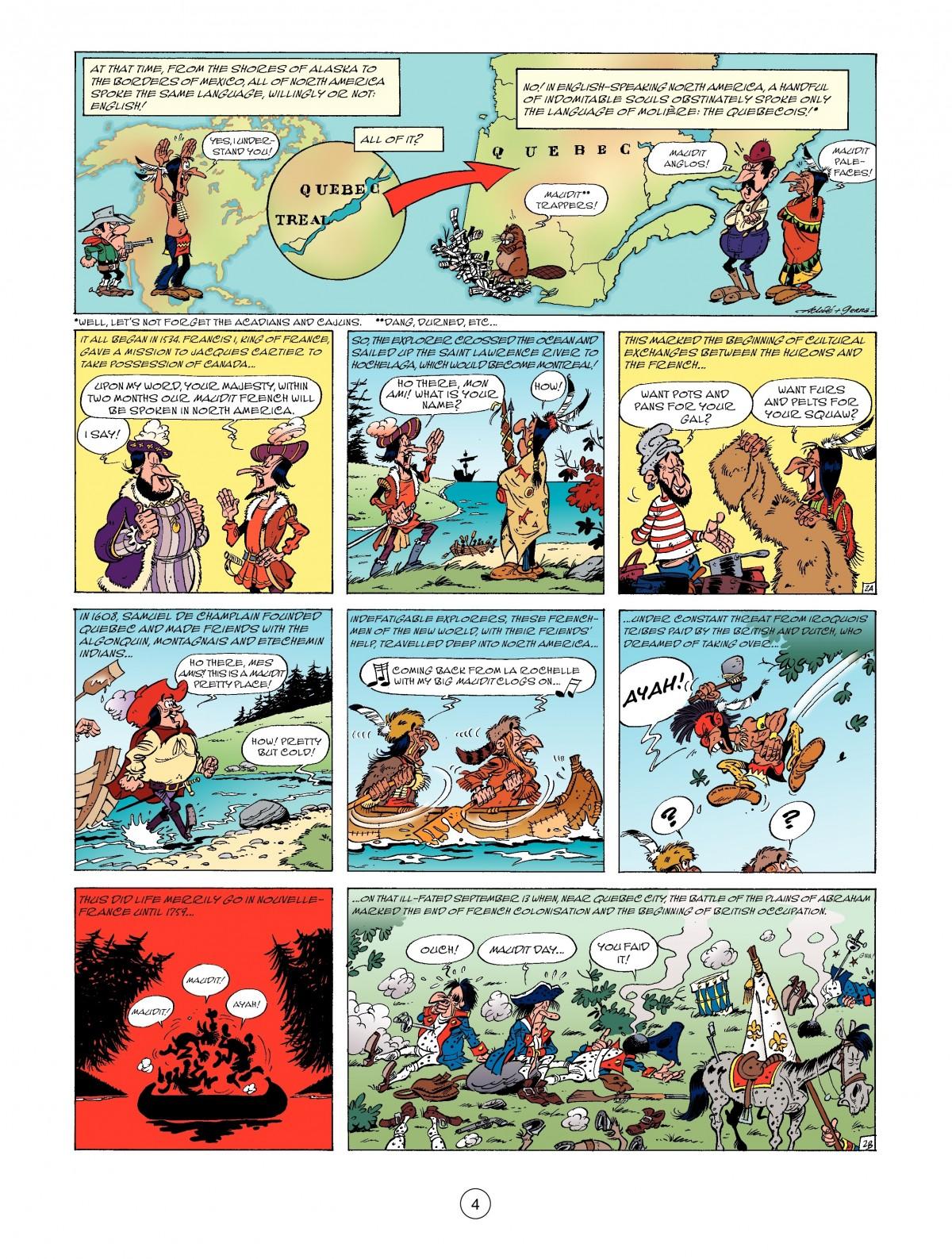 Read online A Lucky Luke Adventure comic -  Issue #52 - 6