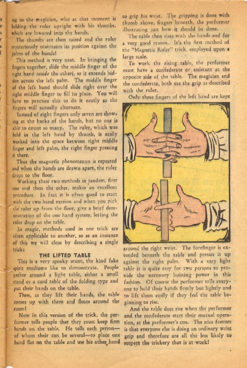 Read online Super-Magician Comics comic -  Issue #52 - 50