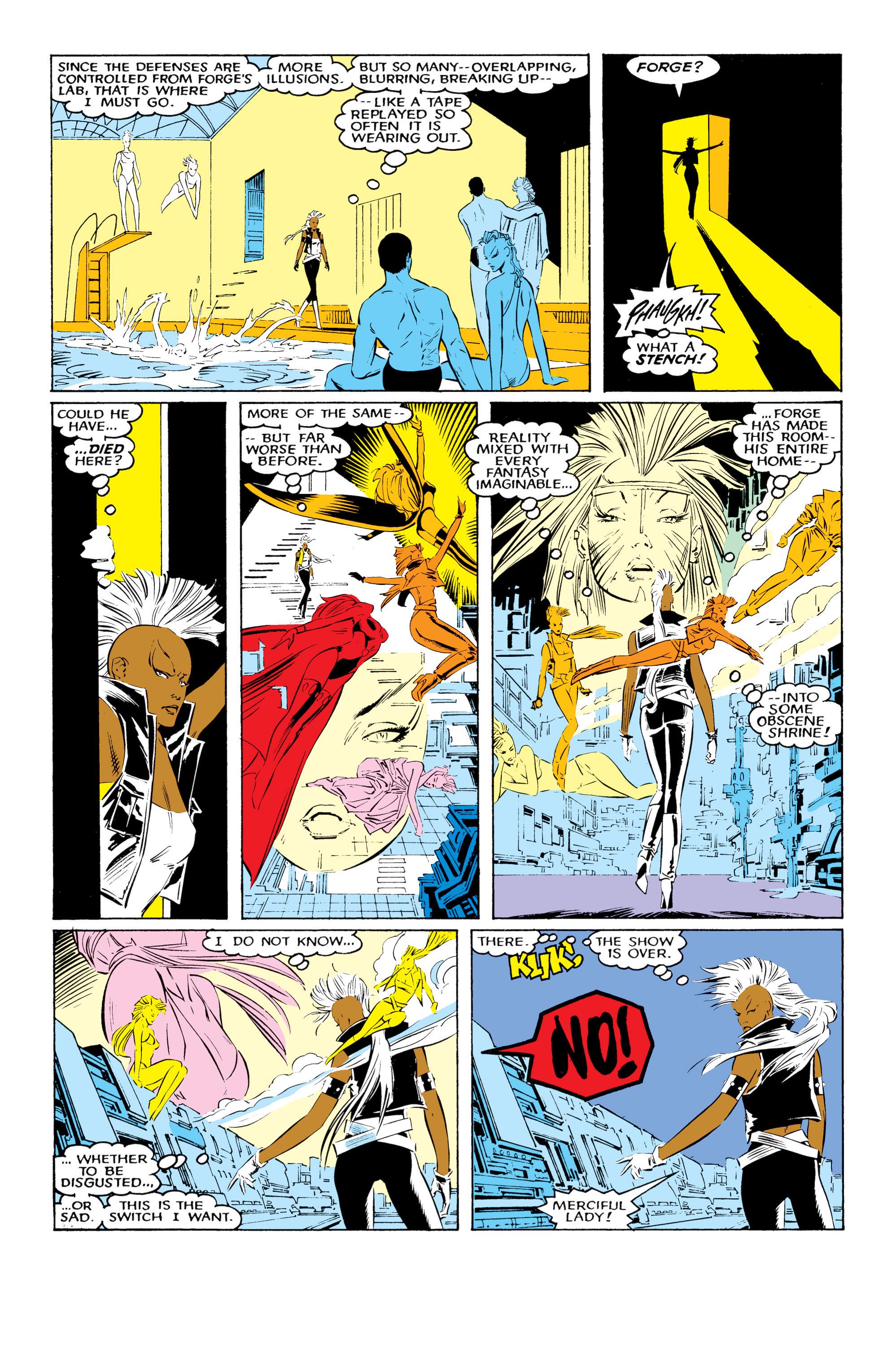 Read online Uncanny X-Men (1963) comic -  Issue #220 - 17