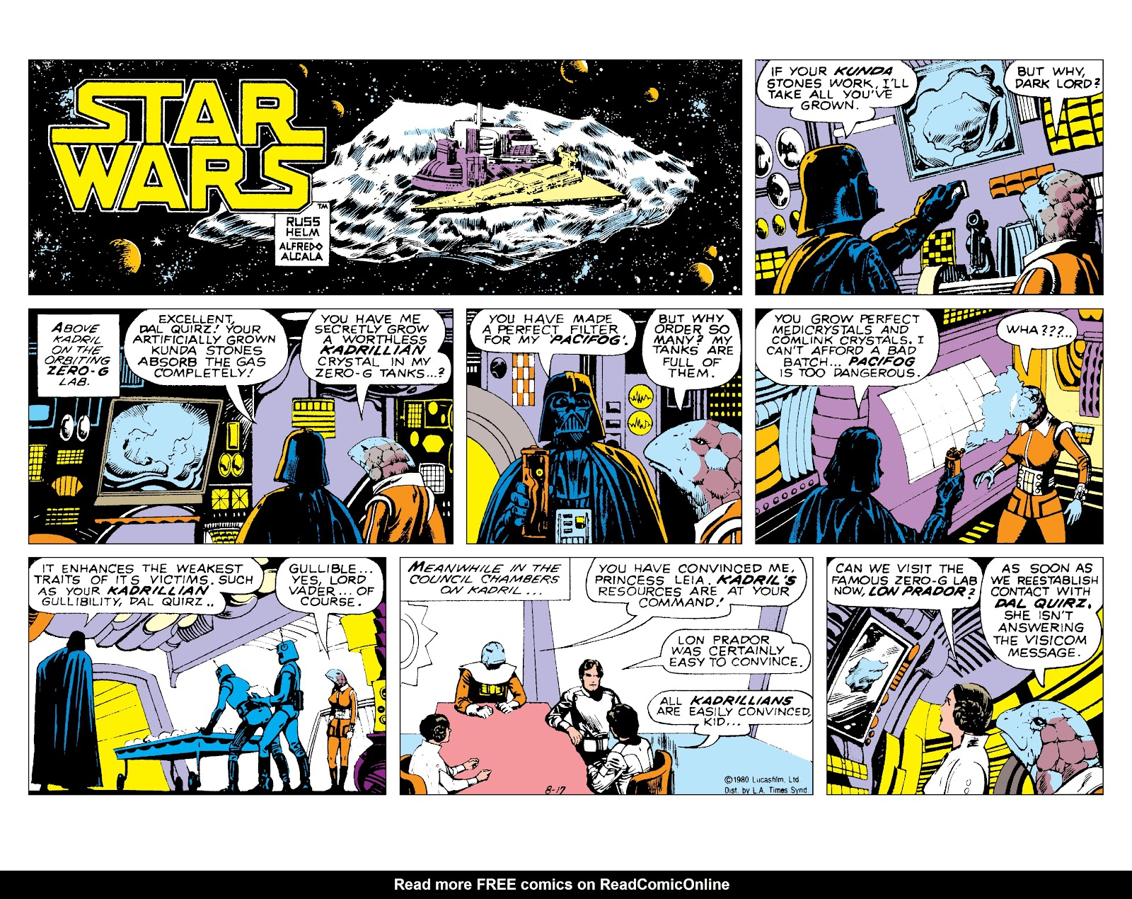 Read online Star Wars Legends: The Newspaper Strips - Epic Collection comic -  Issue # TPB (Part 3) - 83