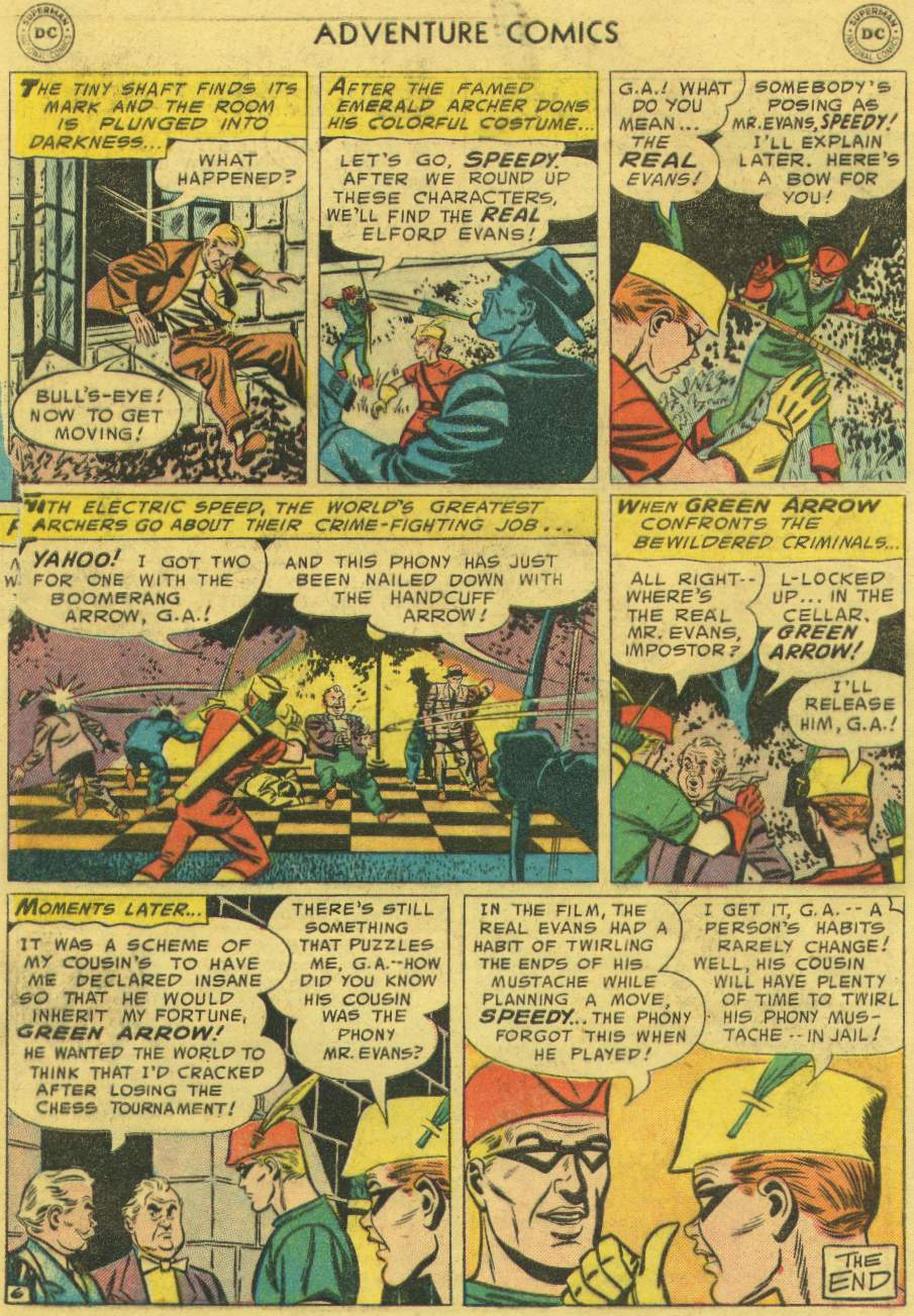 Read online Adventure Comics (1938) comic -  Issue #219 - 32