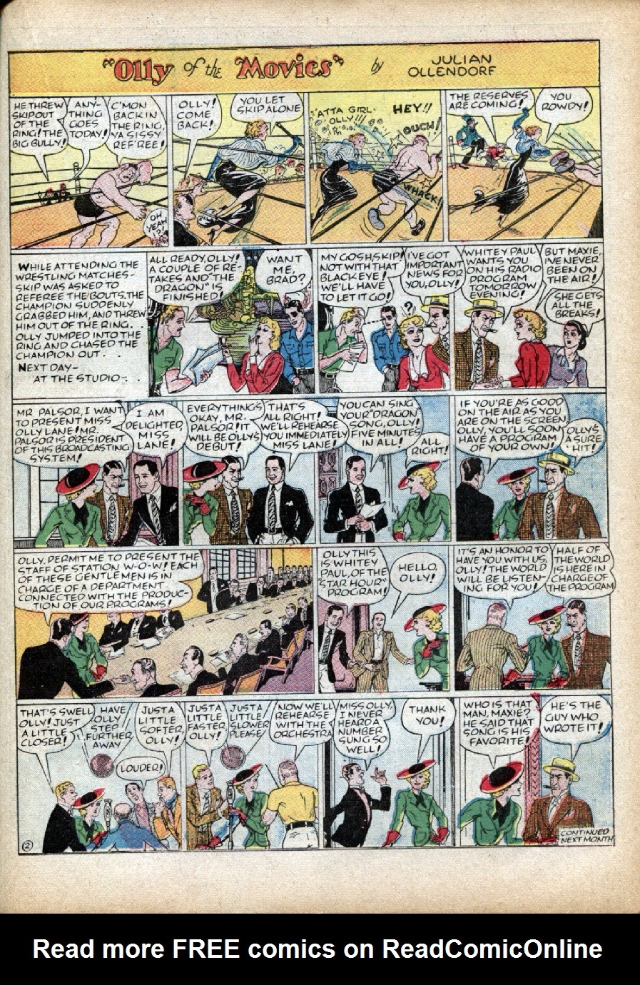 Read online Famous Funnies comic -  Issue #46 - 45
