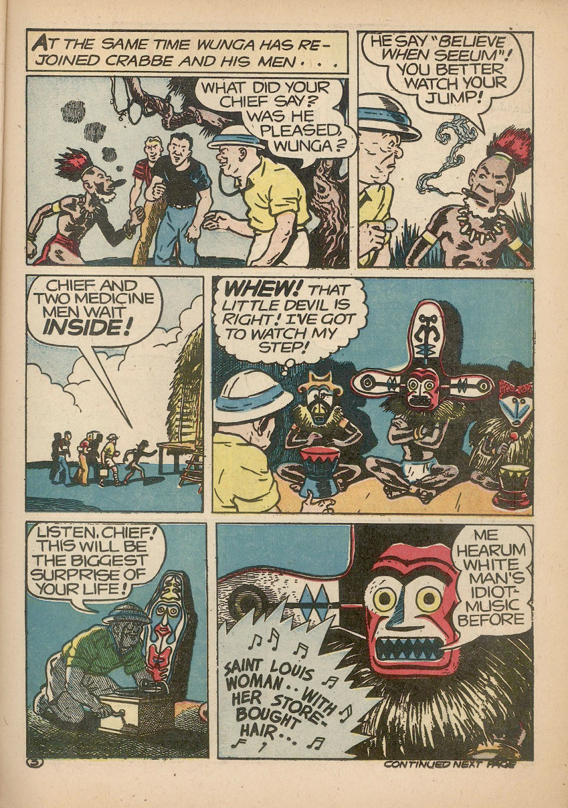 Read online Famous Funnies comic -  Issue #98 - 21