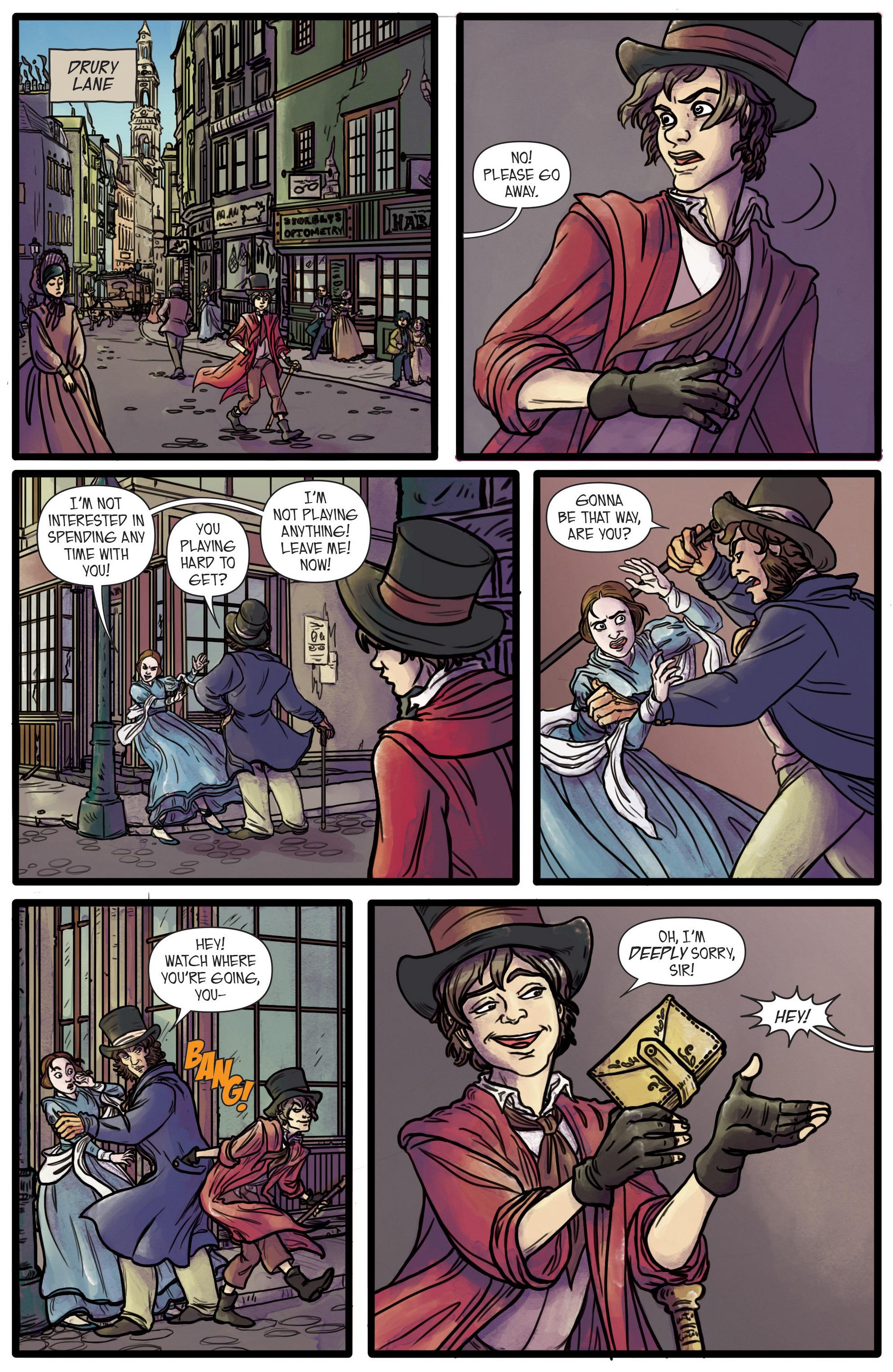 Read online Artful comic -  Issue #1 - 11