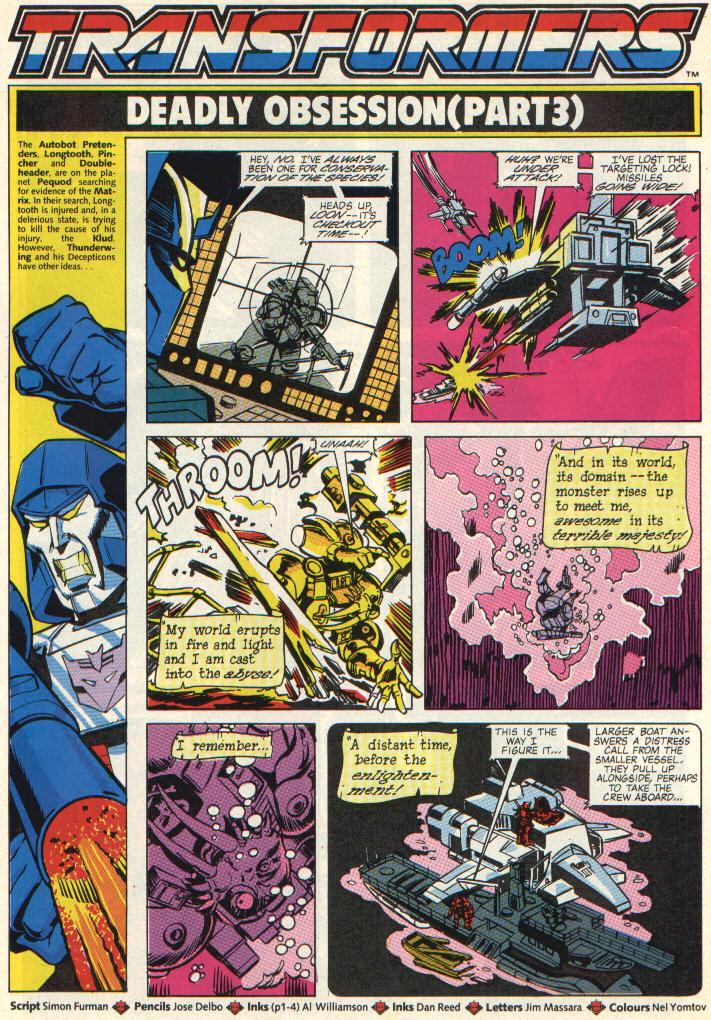 The Transformers (UK) 288 Page 2