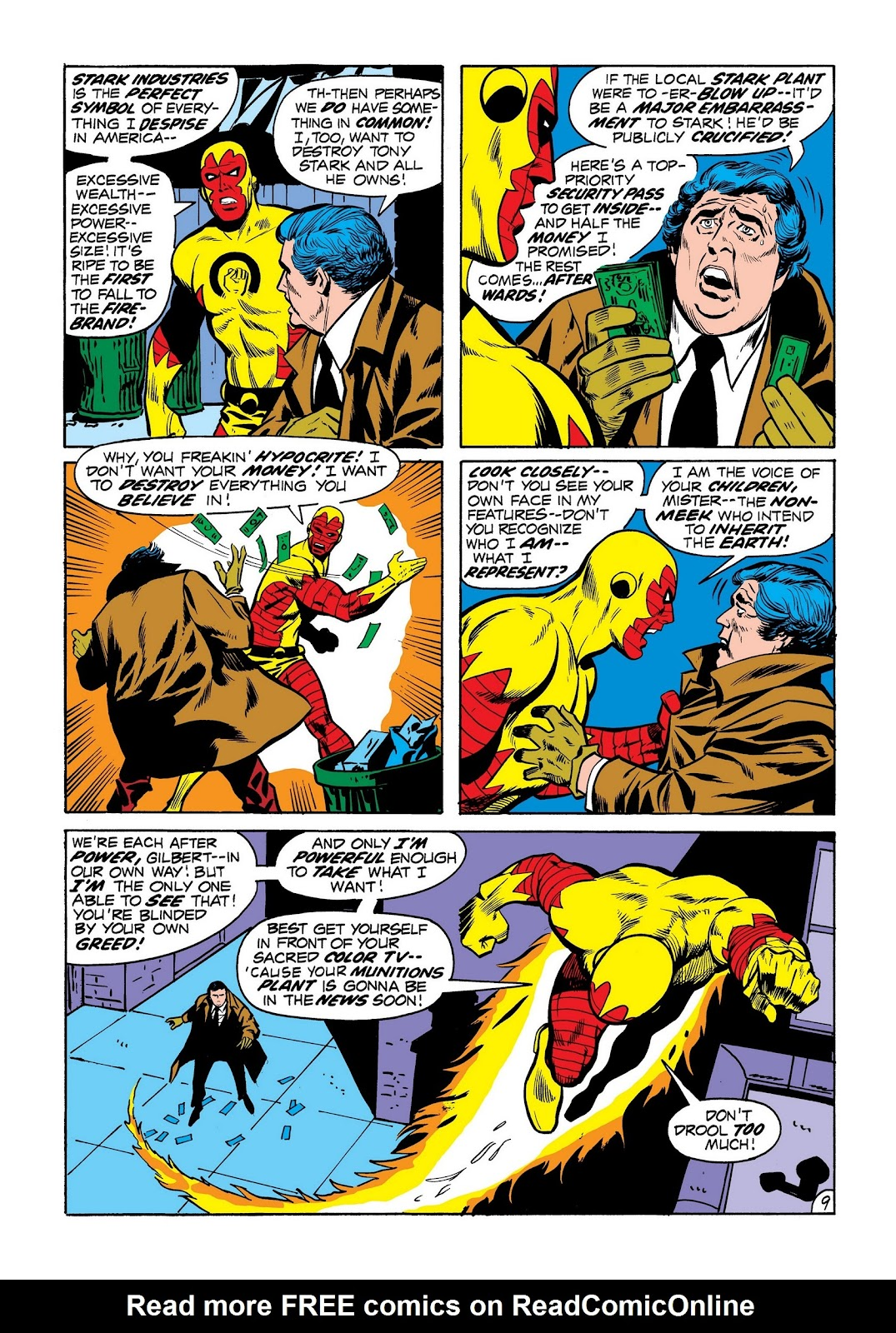 Read online Marvel Masterworks: The Invincible Iron Man comic -  Issue # TPB 8 (Part 2) - 97