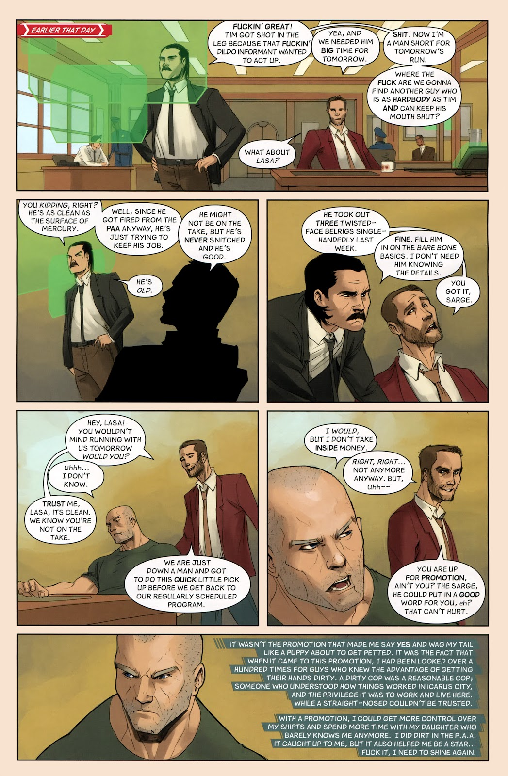 Read online Vescell comic -  Issue #7 - 5