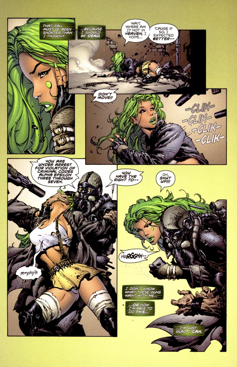 Read online Aphrodite IX (2000) comic -  Issue #1 - 7