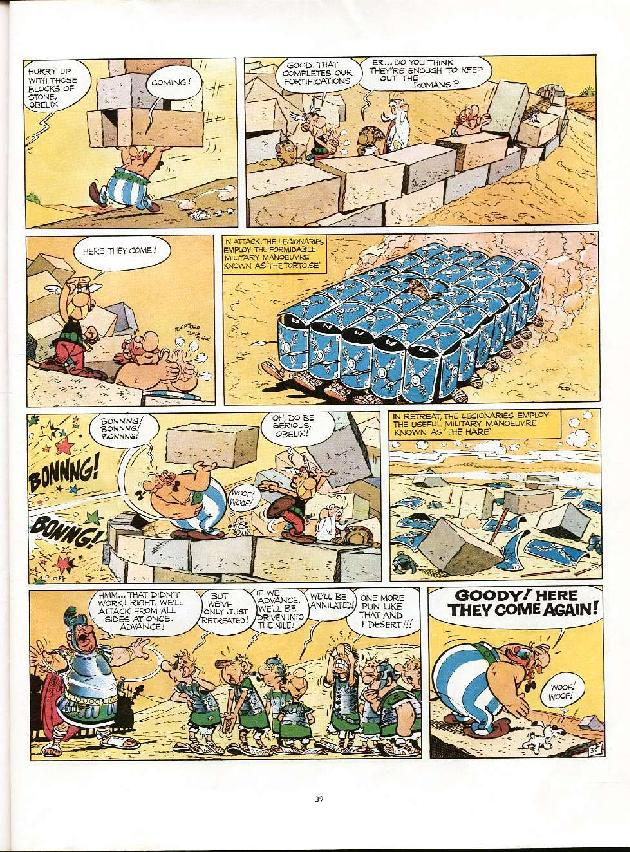 Read online Asterix comic -  Issue #6 - 36