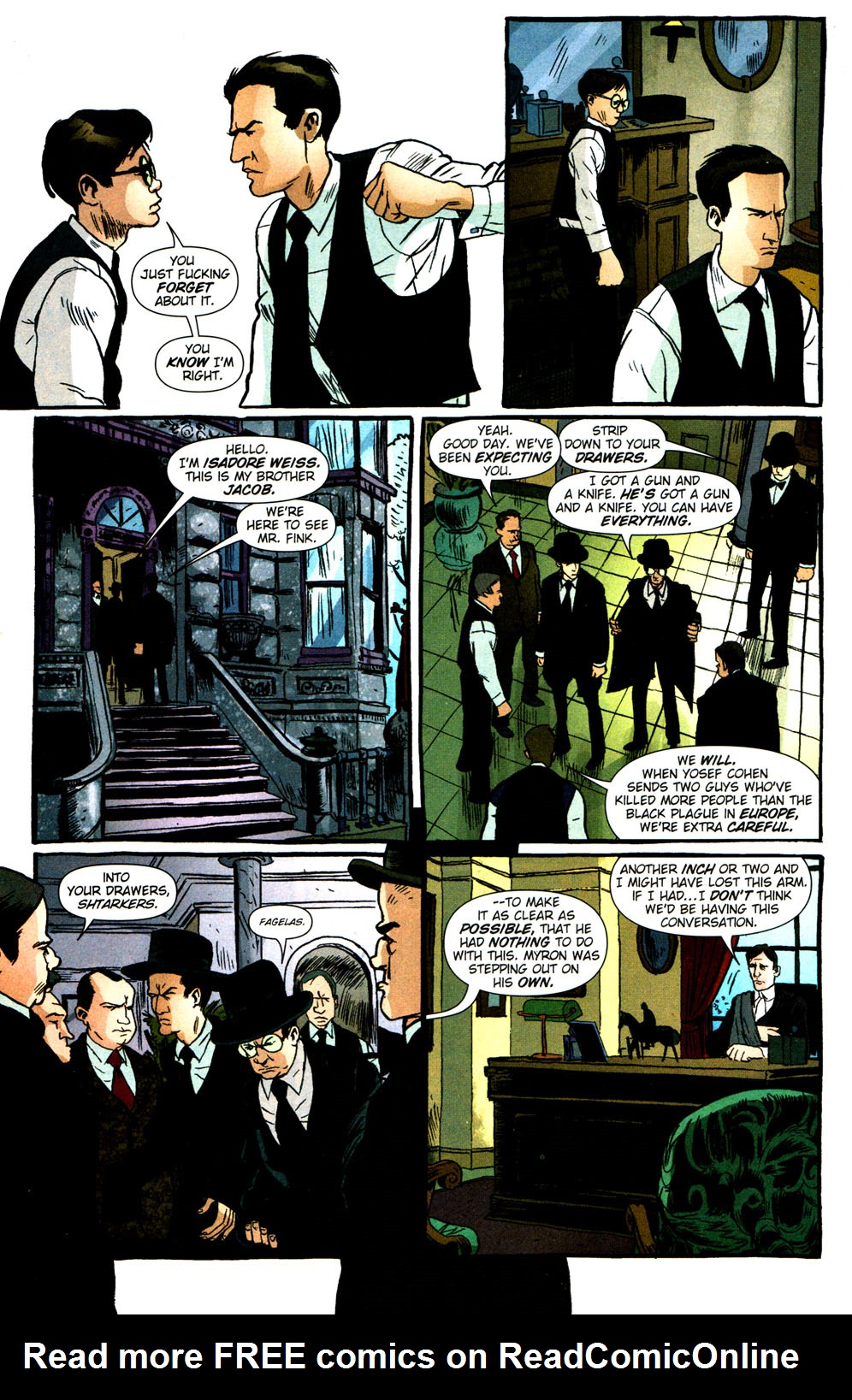 Read online Caper comic -  Issue #2 - 15