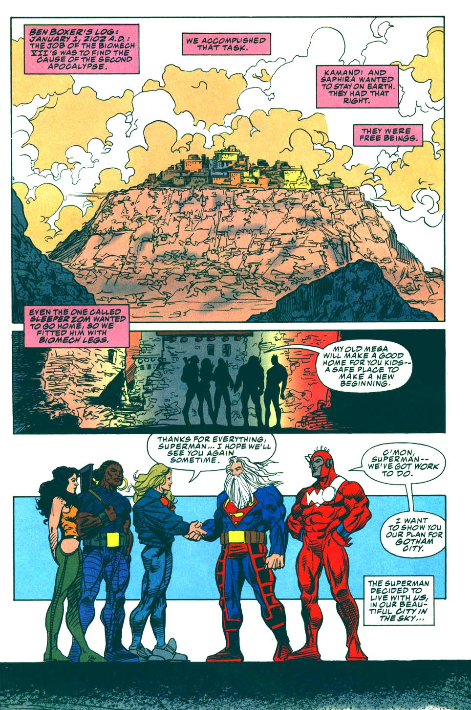 Read online Kamandi: At Earth's End comic -  Issue #6 - 26