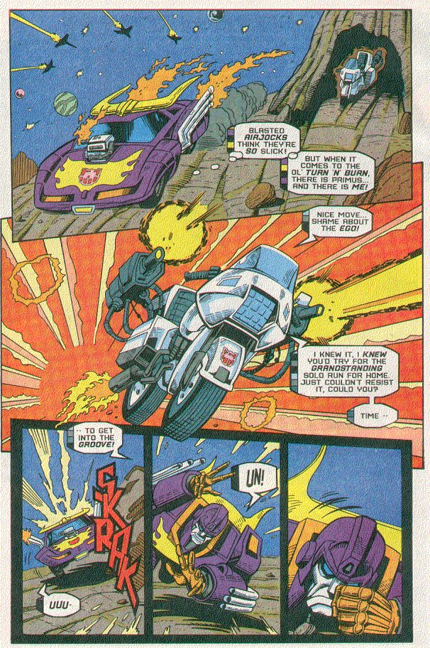 Read online Transformers: Generation 2 comic -  Issue #5 - 11