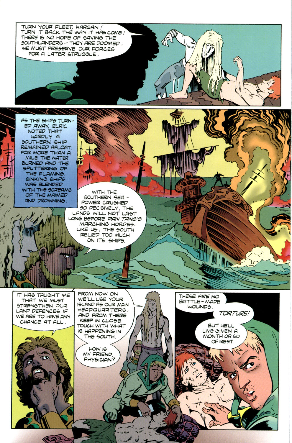 Read online Elric: Stormbringer comic -  Issue #4 - 9