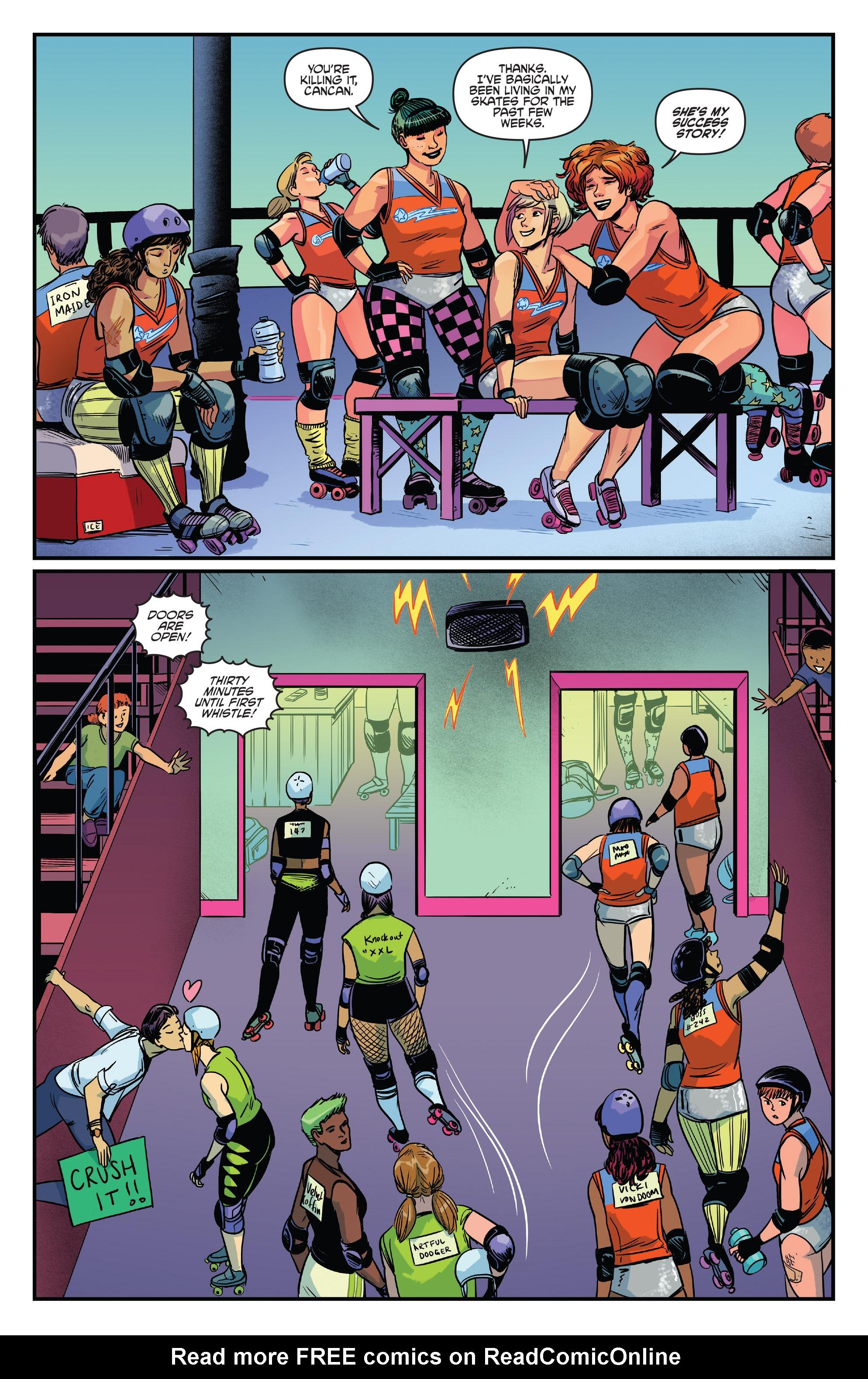 Read online Slam! comic -  Issue #4 - 11