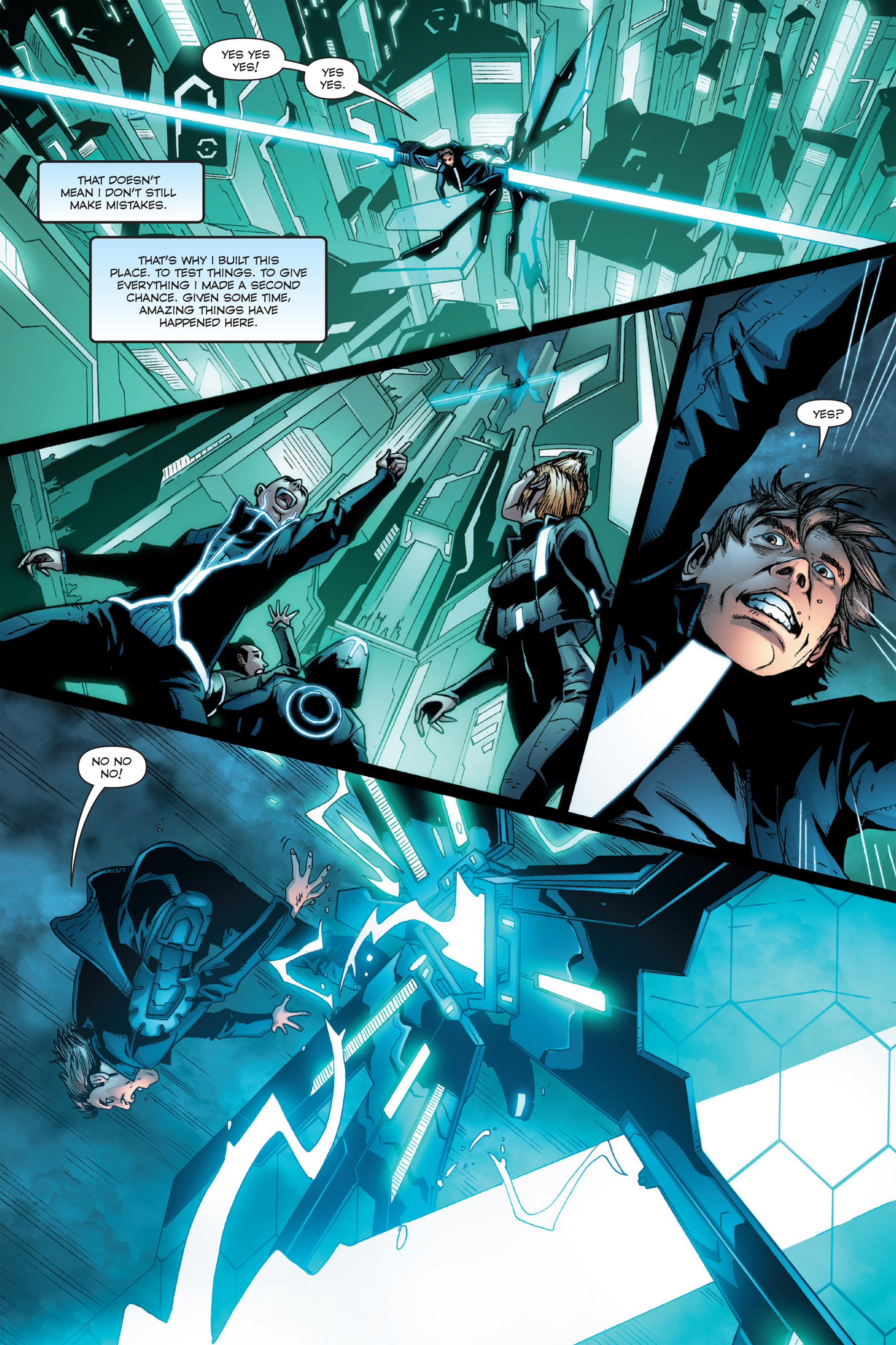 Read online TRON: Betrayal comic -  Issue # TPB - 50