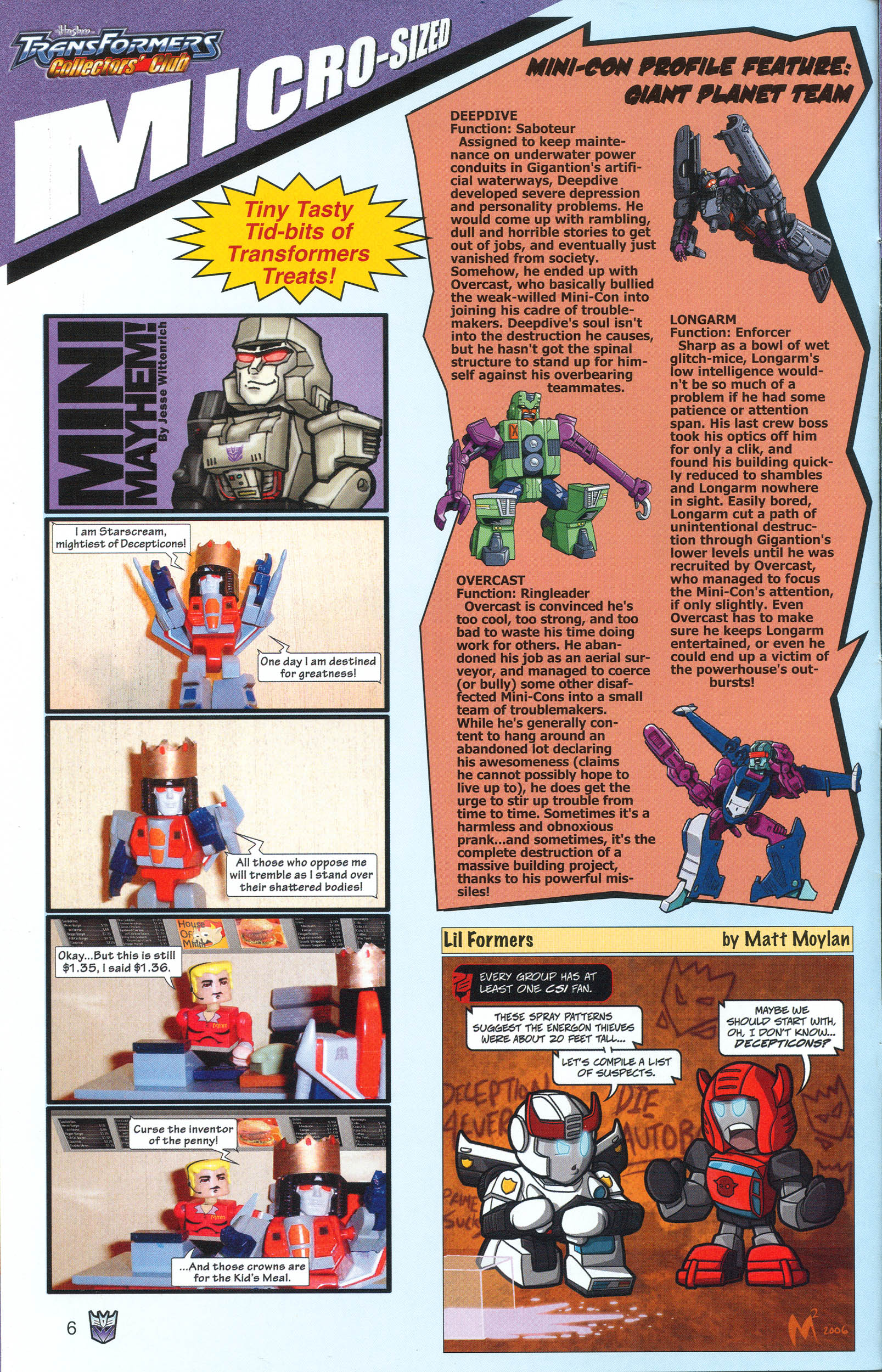 Read online Transformers: Collectors' Club comic -  Issue #13 - 6