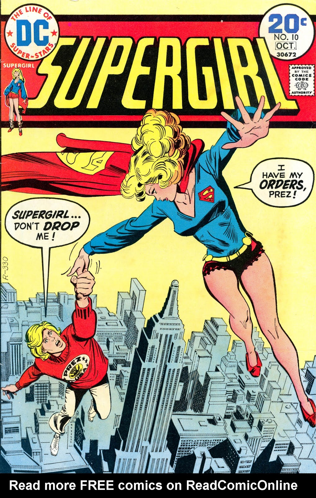 Supergirl (1972) 10 Page 1