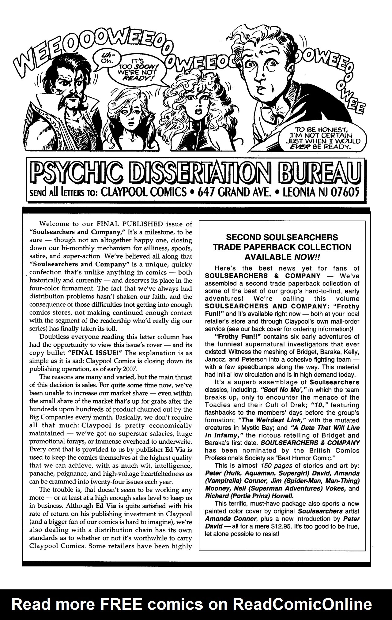 Soulsearchers and Company issue 82 - Page 29