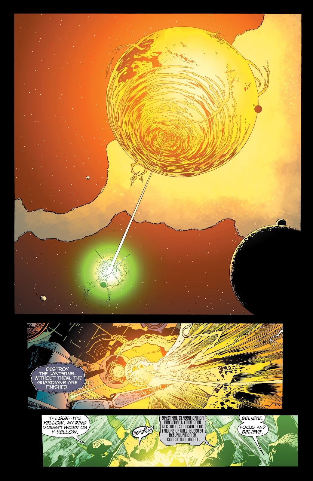 Read online Green Lantern by Geoff Johns comic -  Issue # TPB 1 (Part 3) - 84