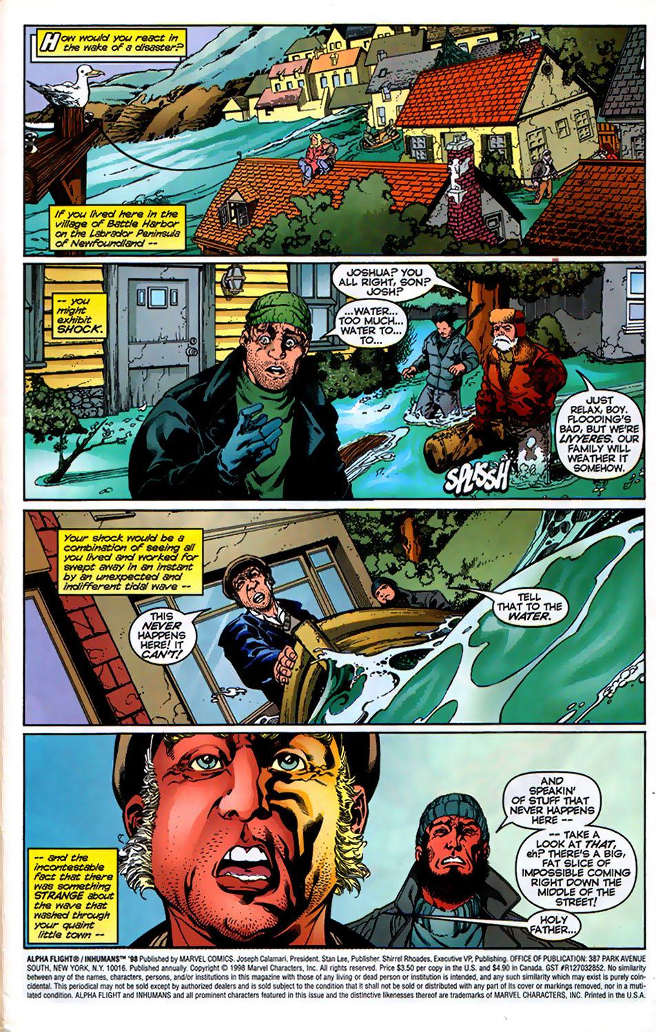 Read online Alpha Flight (1997) comic -  Issue # _Annual - 3