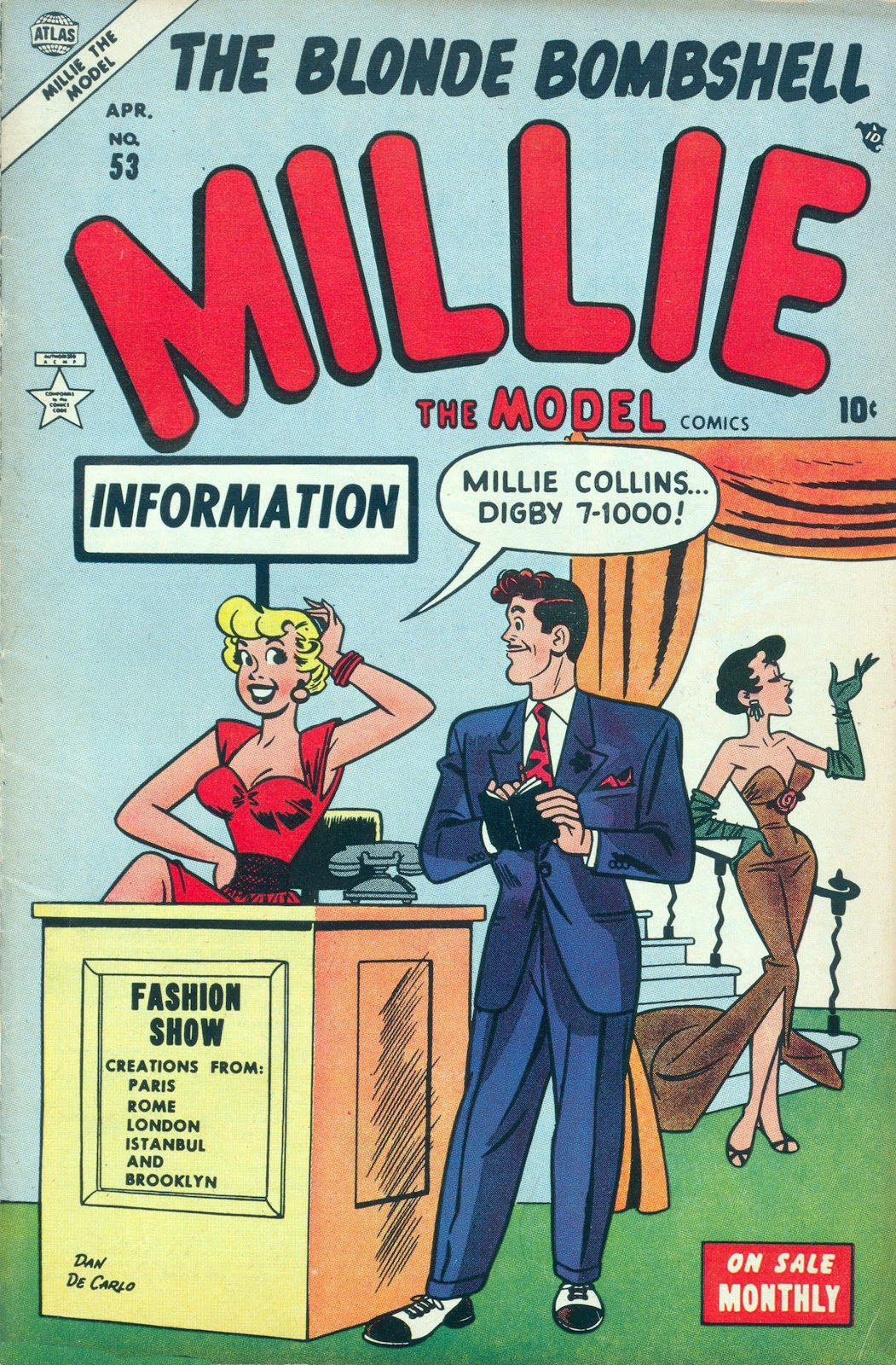 Millie the Model issue 53 - Page 1