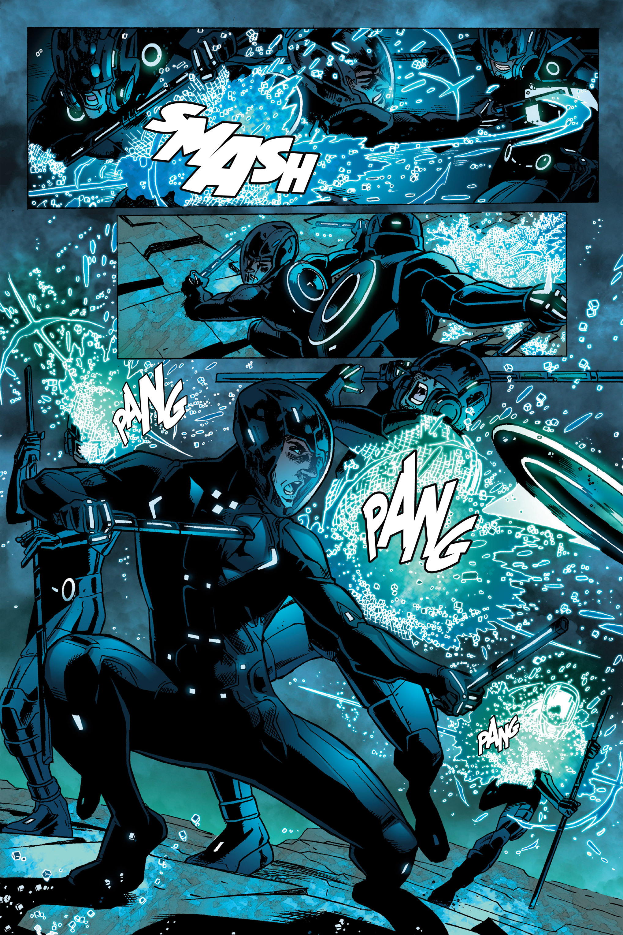 Read online TRON: Betrayal comic -  Issue # TPB - 101