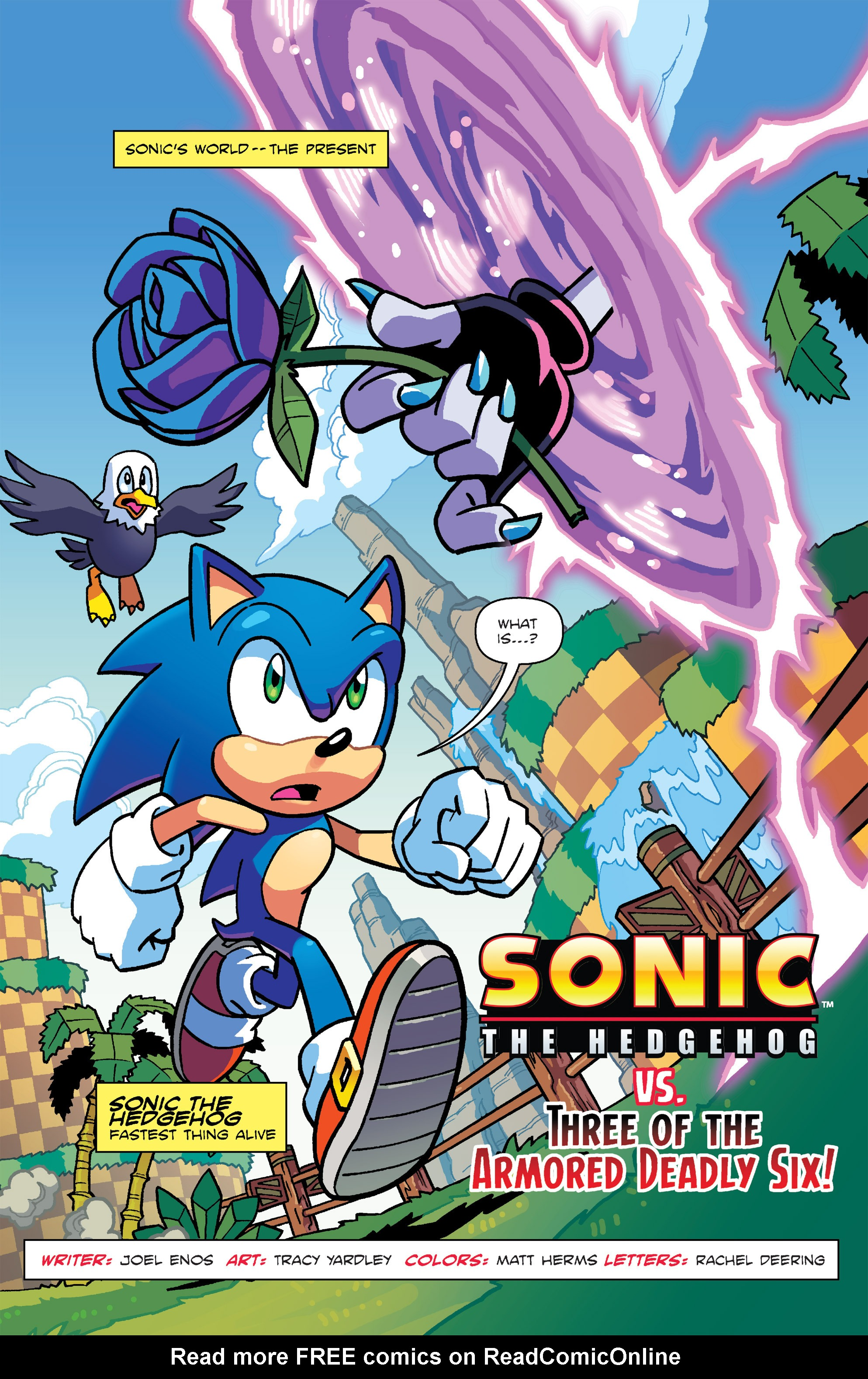 Read online Sonic: Worlds Unite Battles comic -  Issue # Full - 4