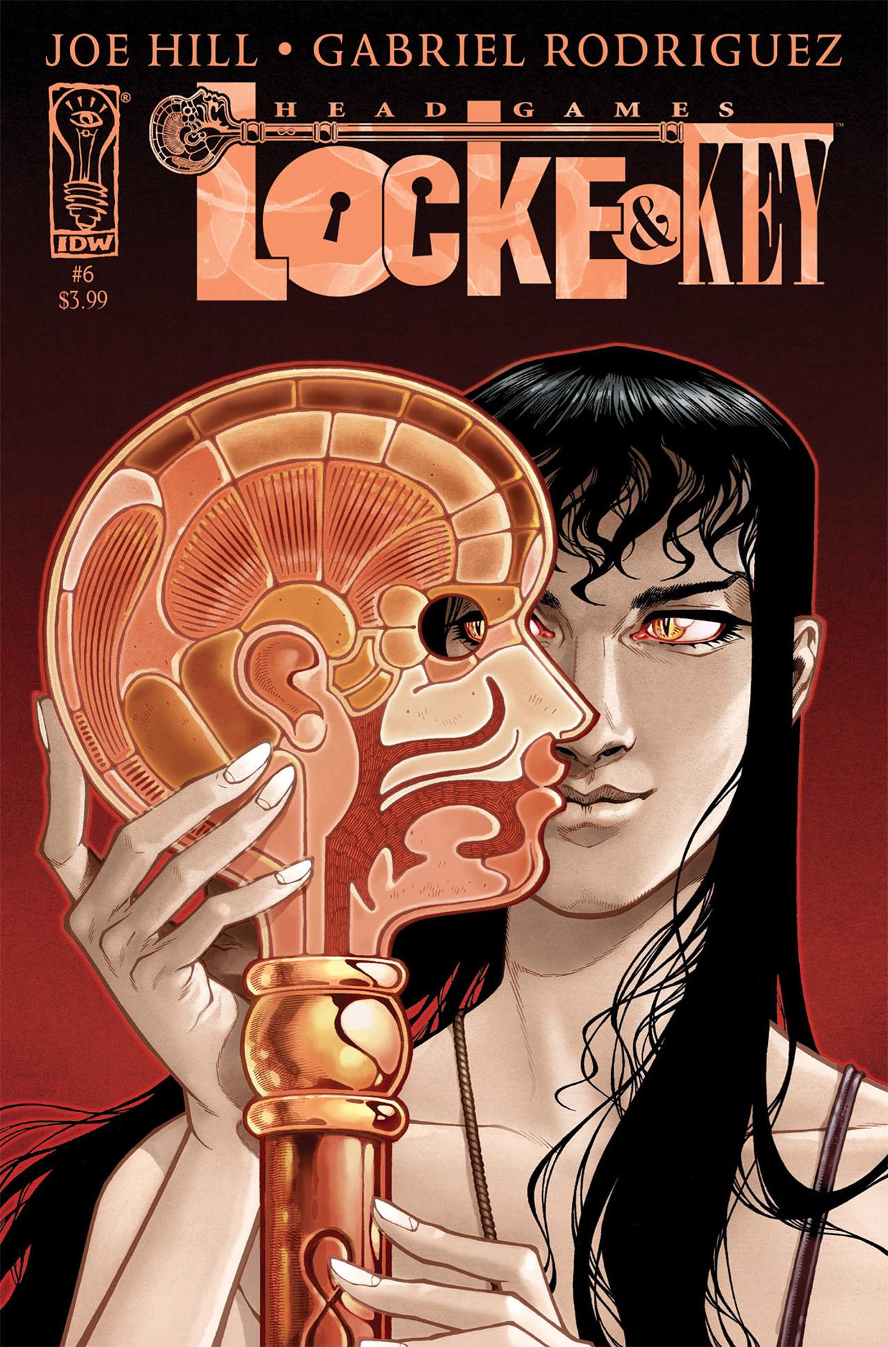 Locke & Key: Head Games 6 Page 1