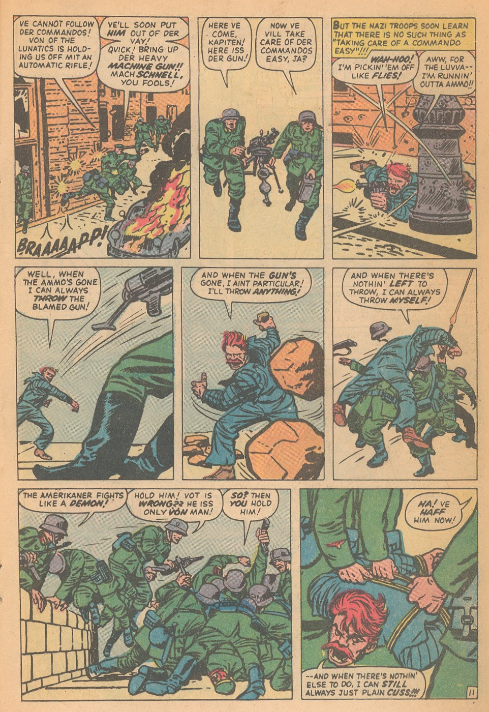 Read online Sgt. Fury comic -  Issue #95 - 17