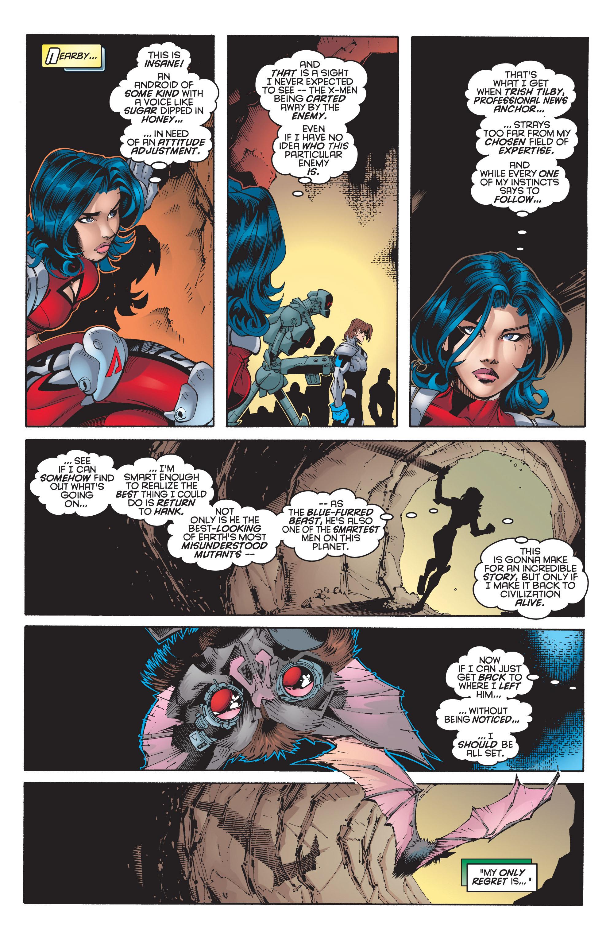 Read online Uncanny X-Men (1963) comic -  Issue #348 - 5
