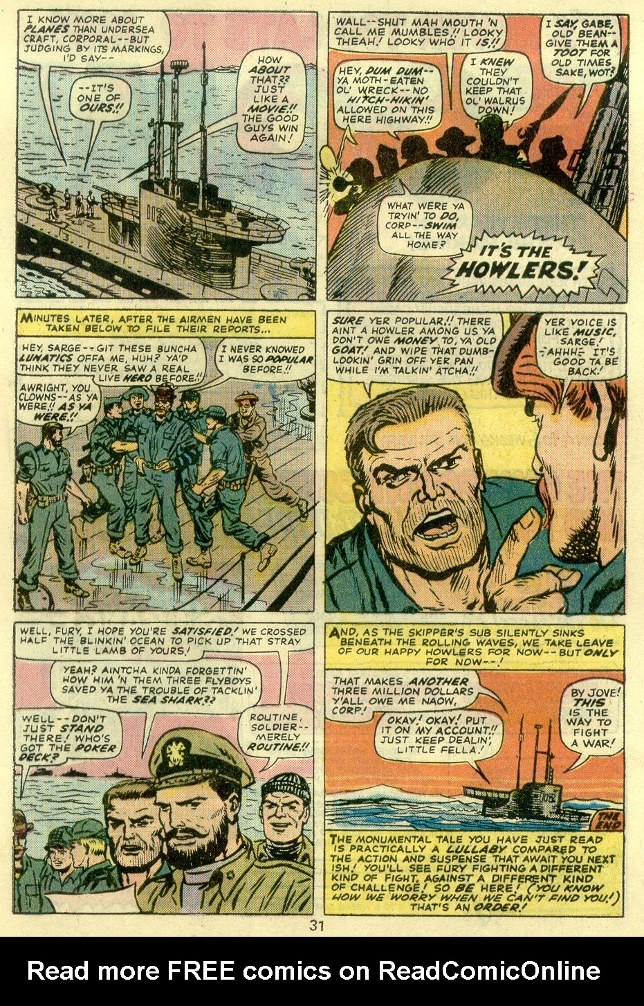 Read online Sgt. Fury comic -  Issue #128 - 33