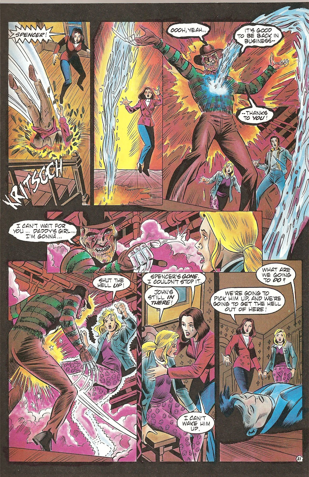 Read online Freddy's Dead: The Final Nightmare comic -  Issue #2 - 23