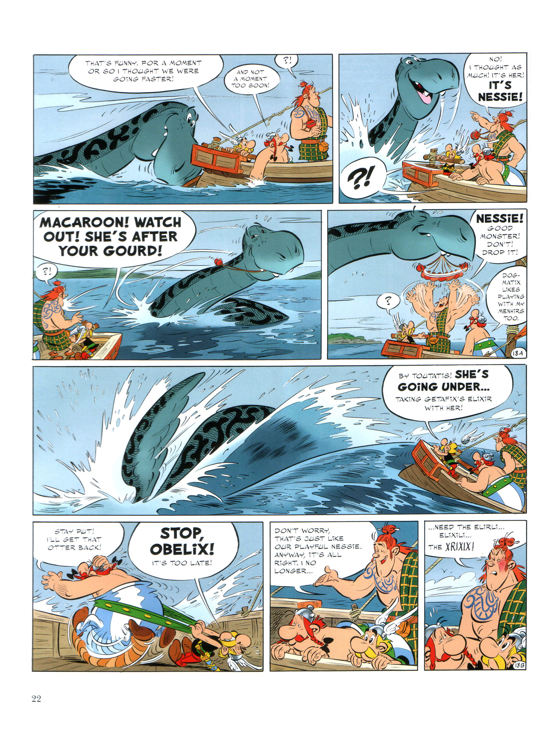 Read online Asterix comic -  Issue #35 - 23
